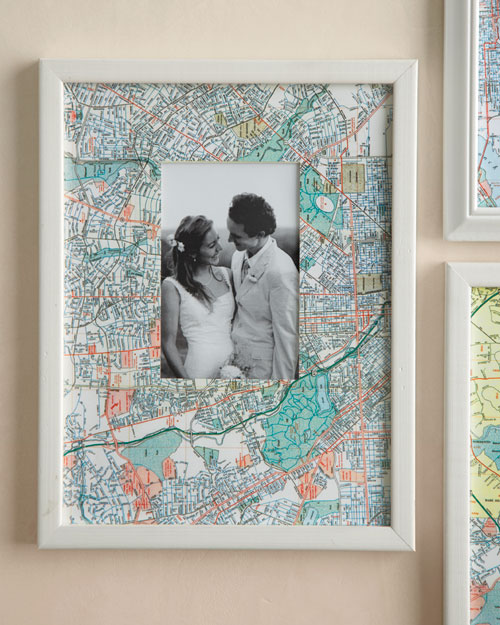 Map Picture Frames