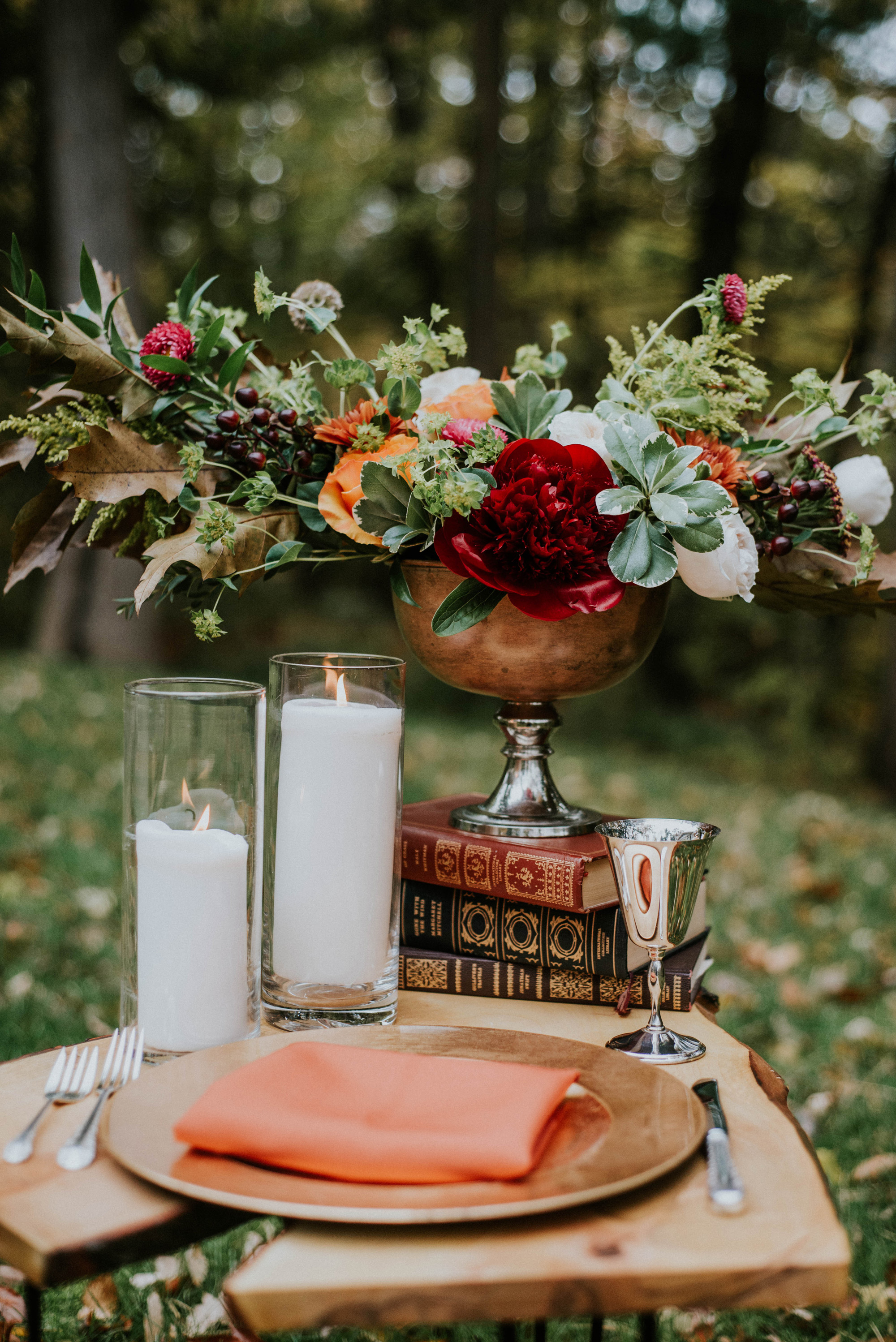fruit and veggie centerpieces gaetz photography