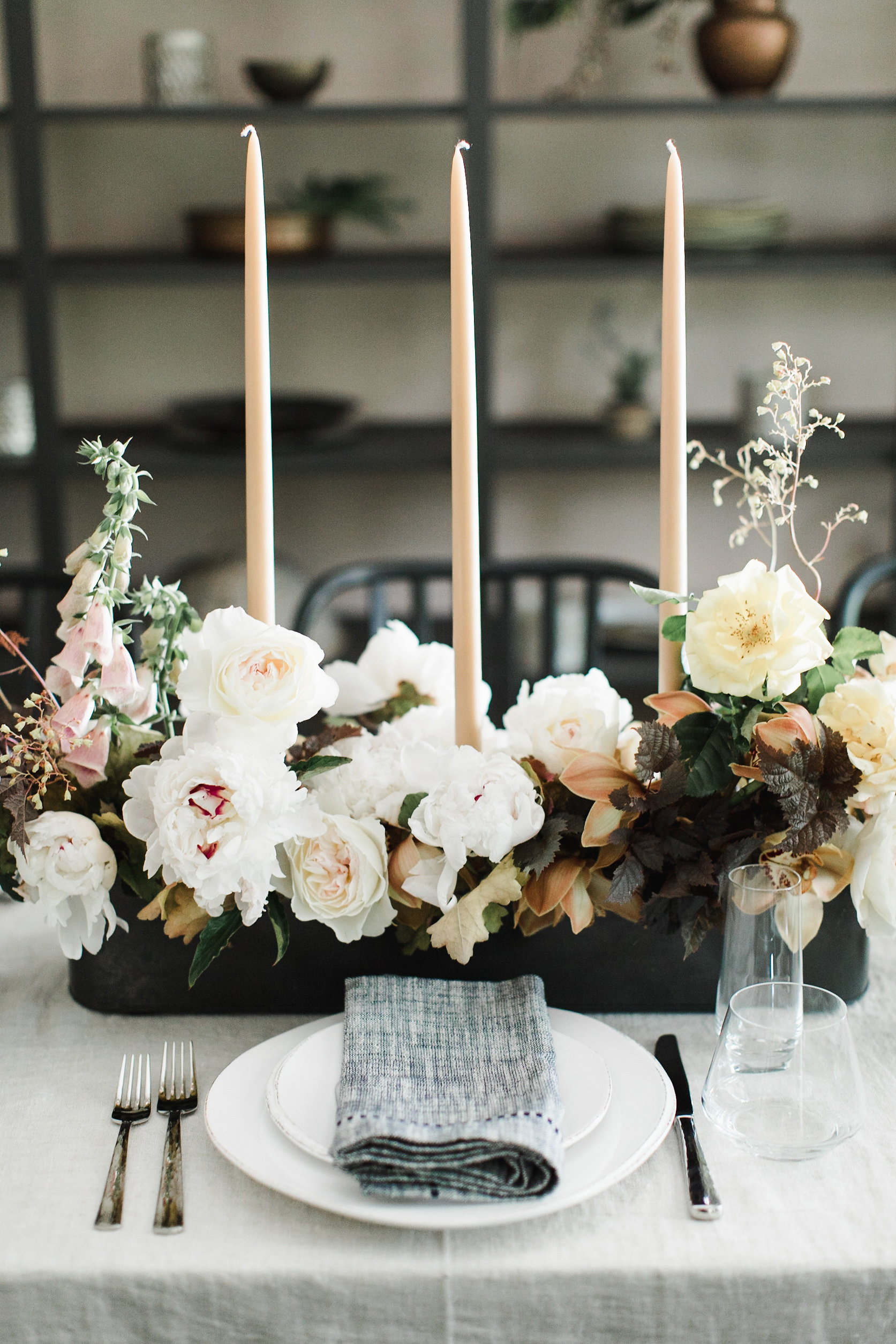 peony centerpieces ashley scavotto