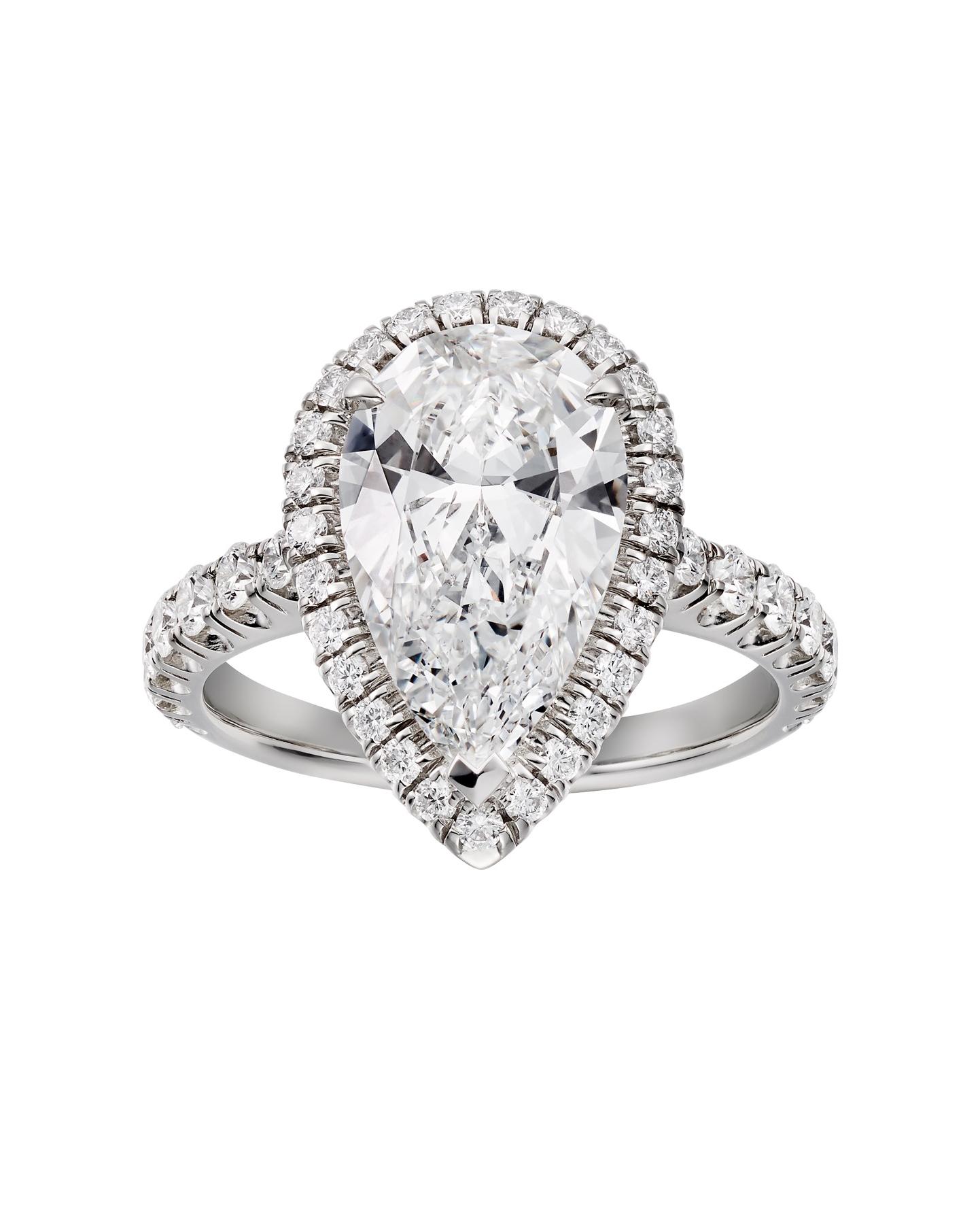 engagement ring settings pave diamonds jewelry