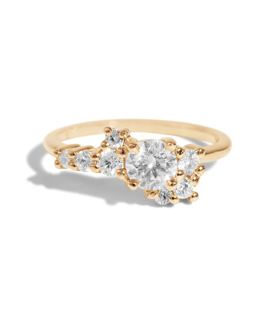 engagement ring settings cluster diamonds jewelry