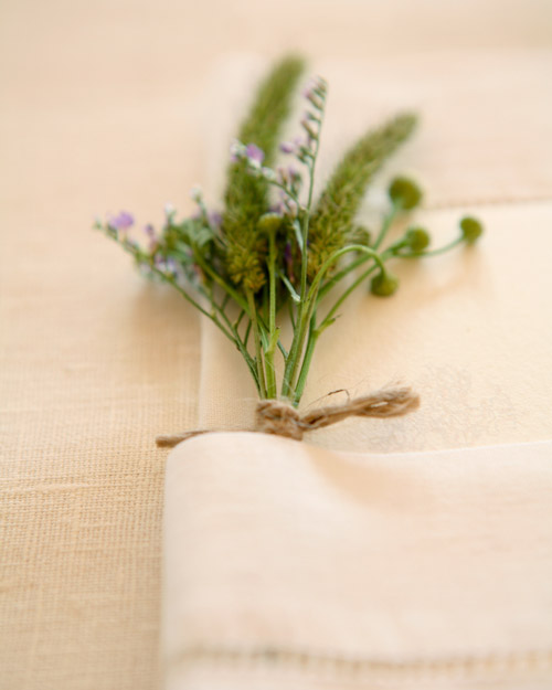 Place Setting Decoration