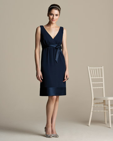 Short Navy Dress