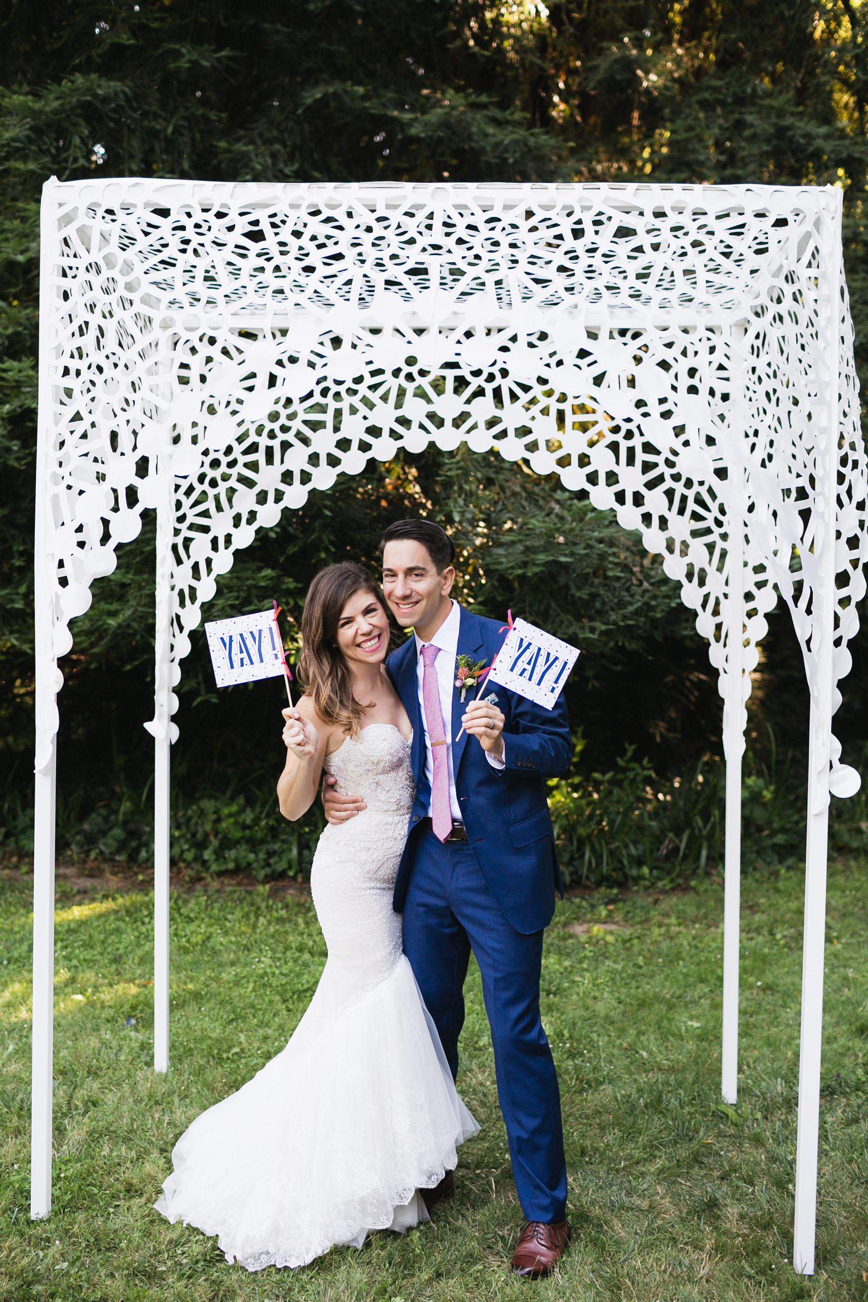 molly adam wedding couple yay