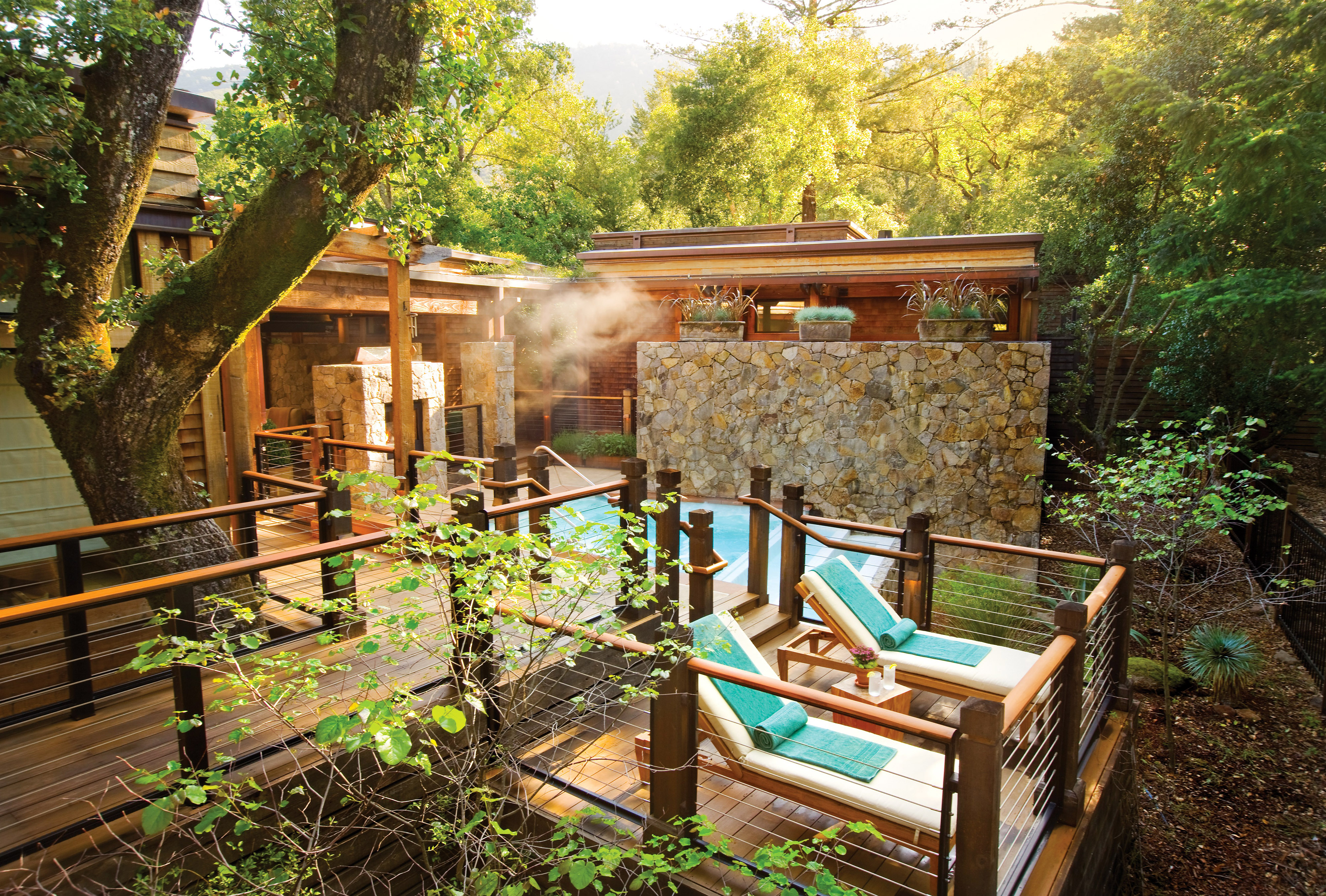 best places for honeymooners calistoga ranch