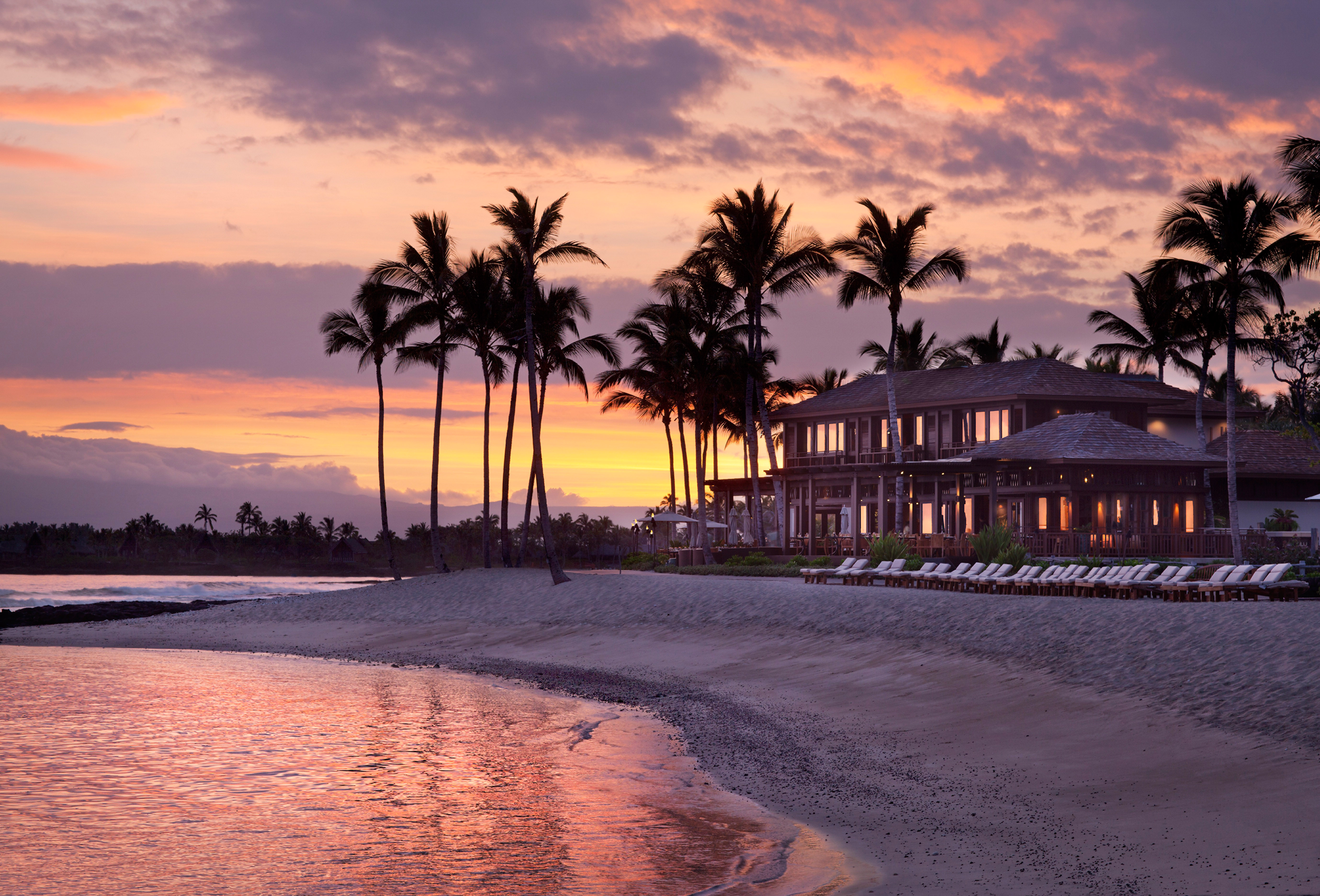 best places for honeymooners four seasons hualalai