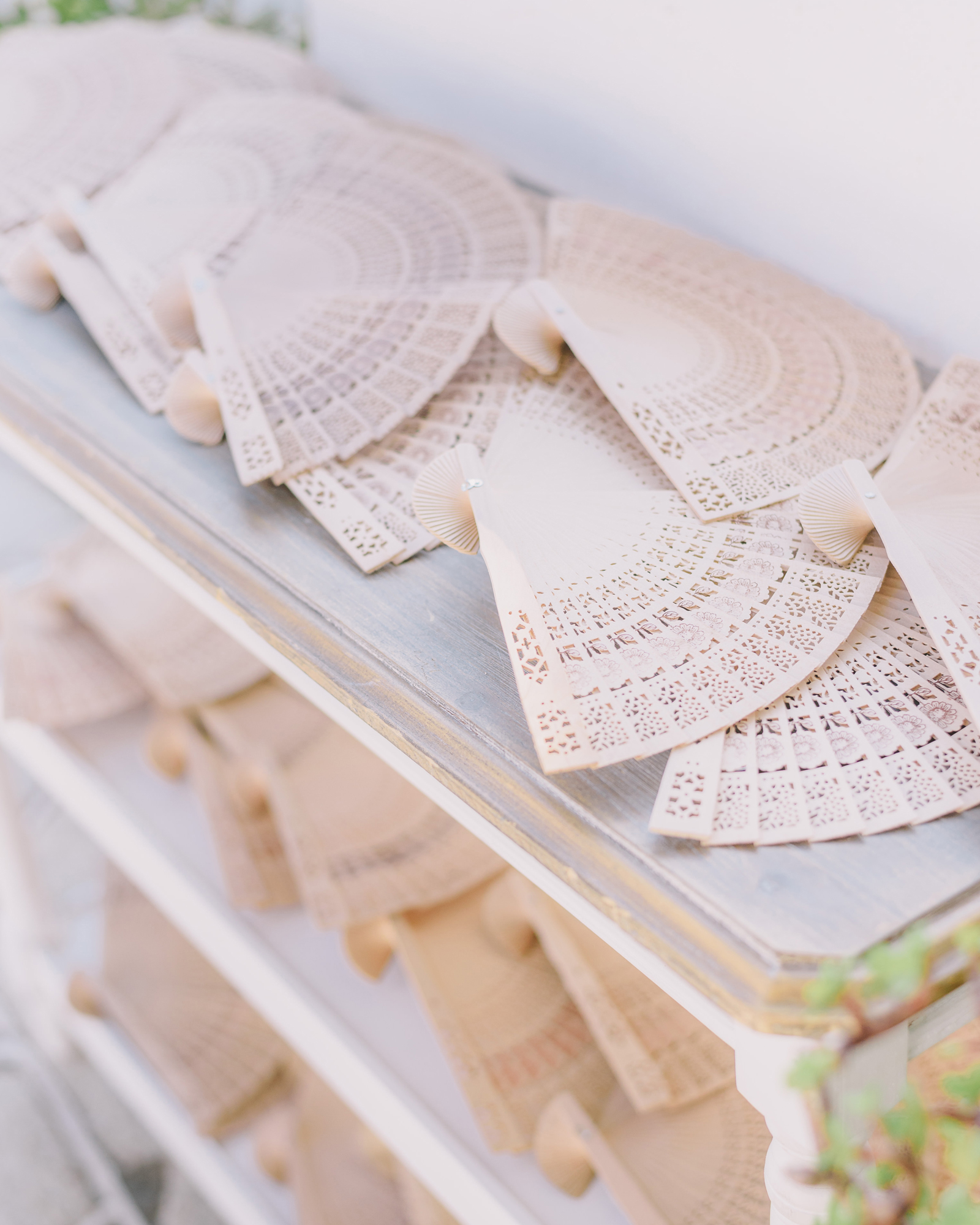 intricate hand fans