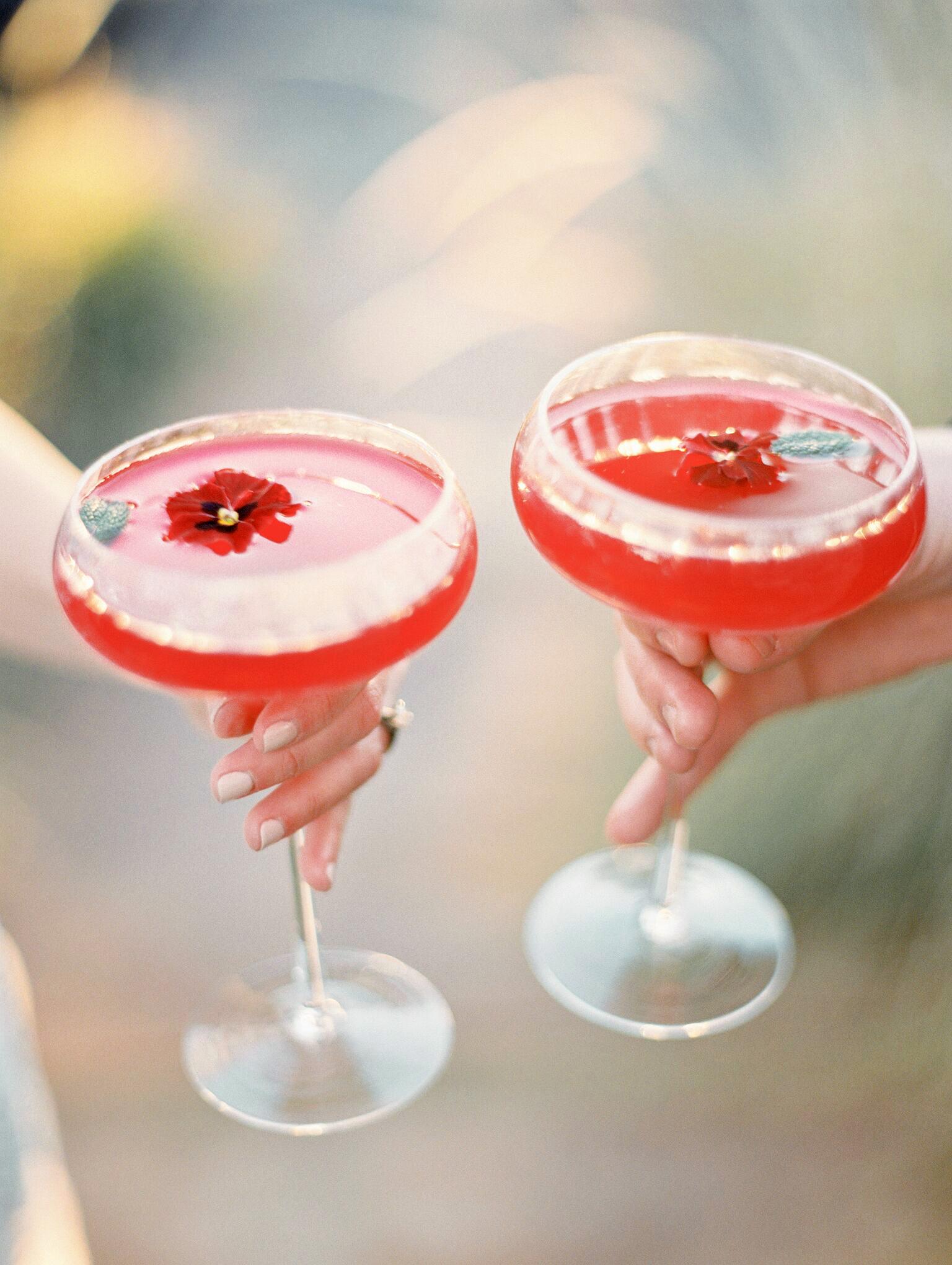creative cocktail toast