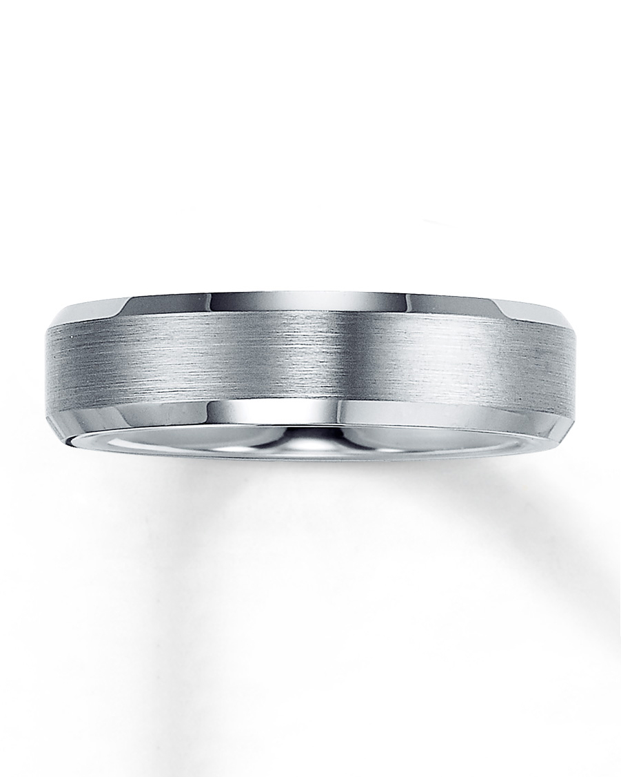 silver wedding band