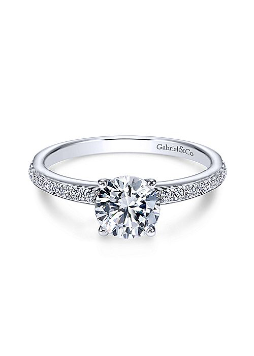 Gabriel & Co. Megan Ring