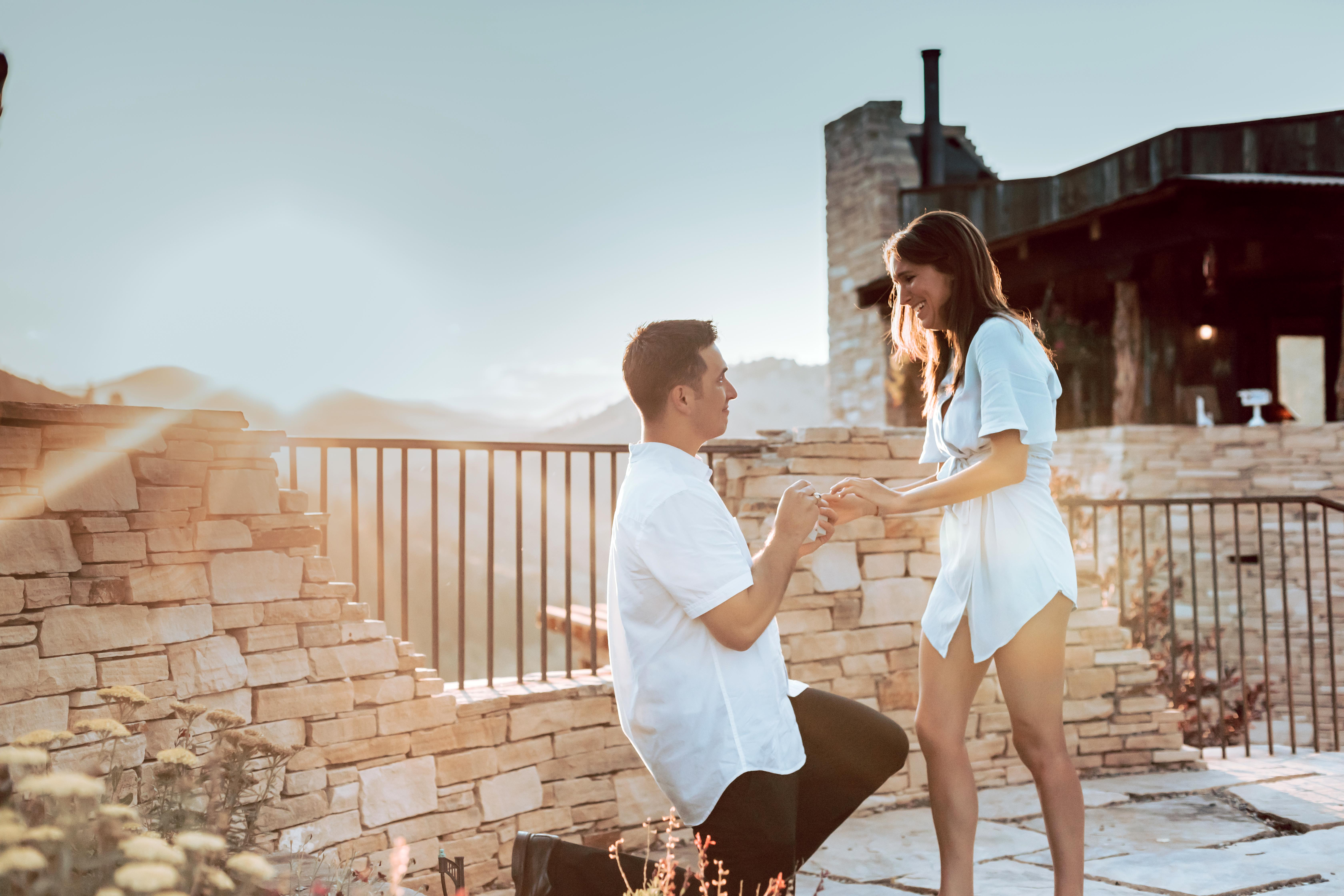 perfect proposals with sunset view airbnb