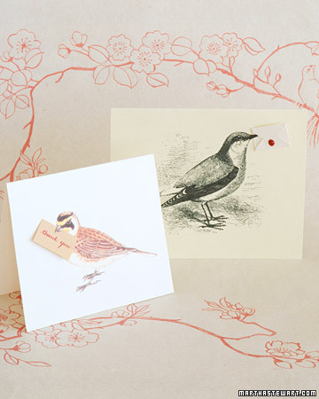 Bird Thank-You Notes
