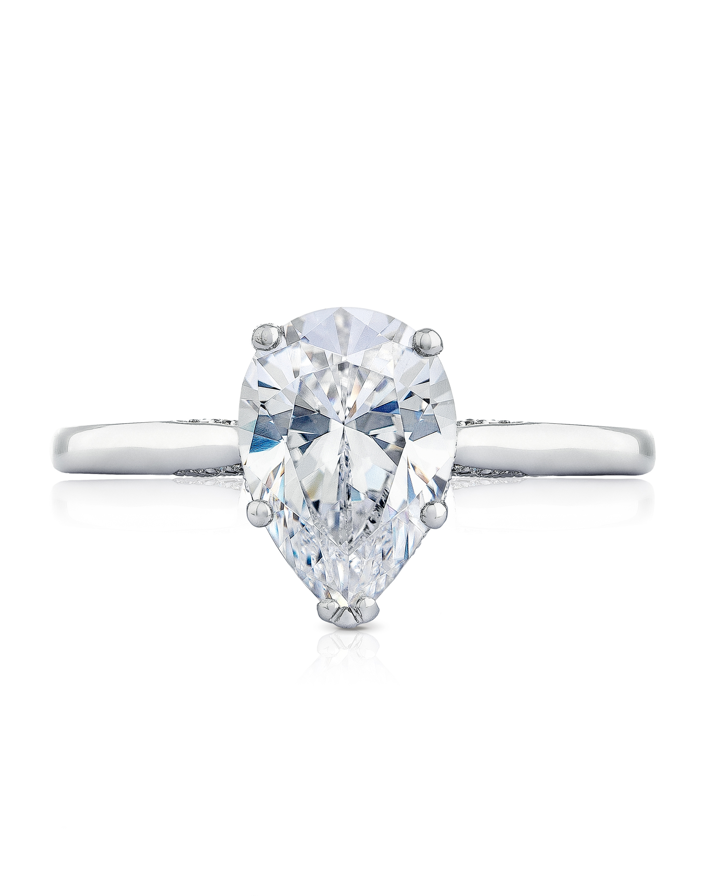 Anna Sheffield Pear-Cut Engagement Ring