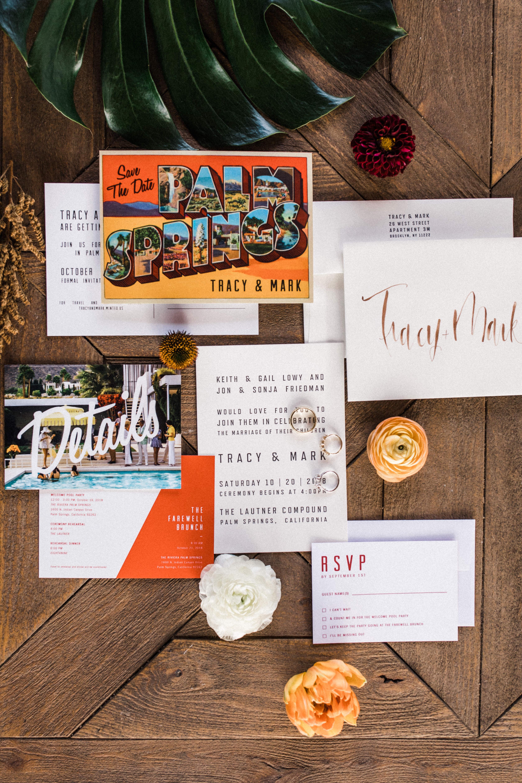 destination inspired wedding invitations landmark postcard