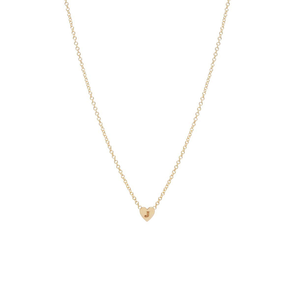 Zoë Chicco Heart Necklace