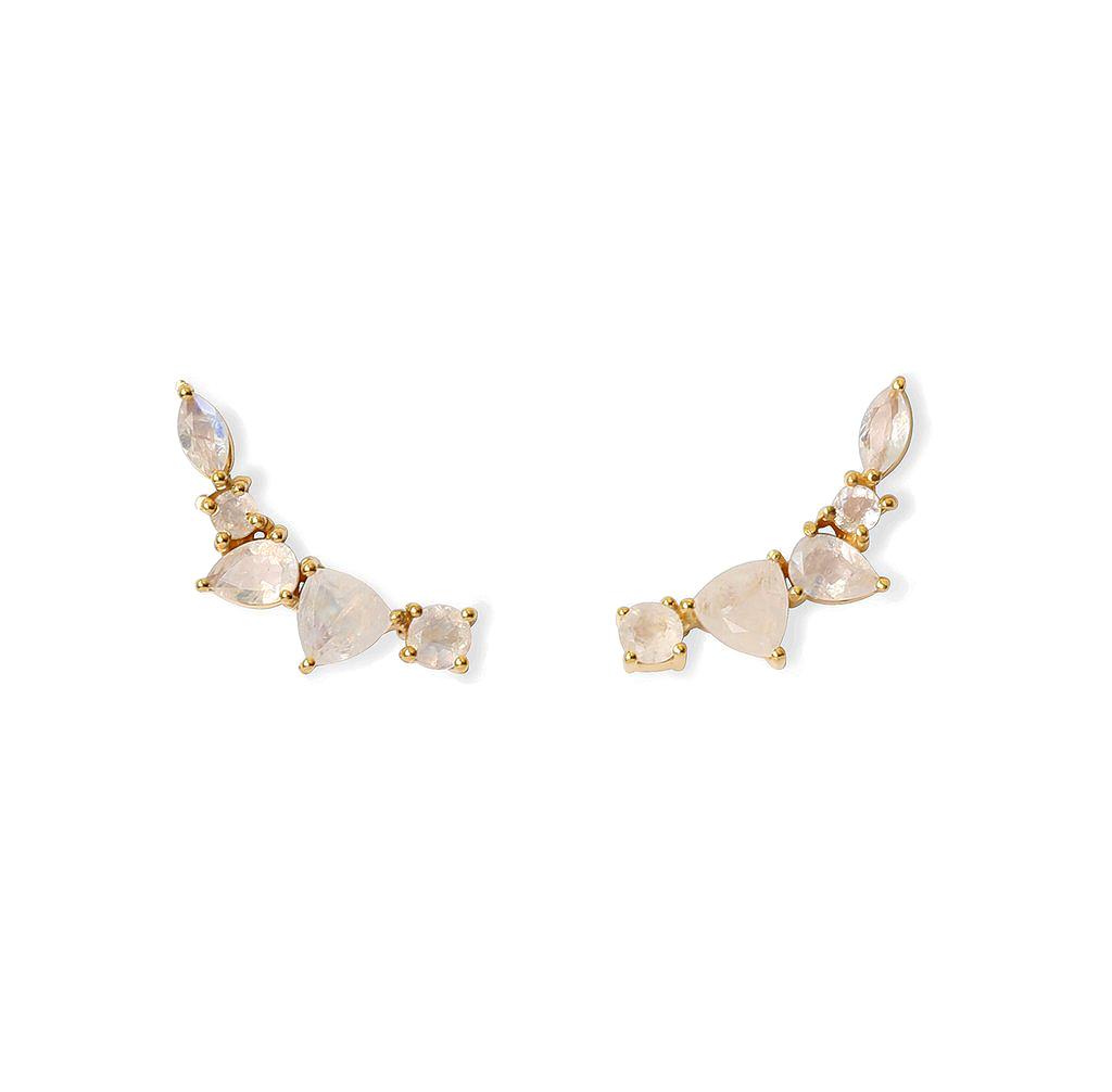 """Leah Alexandra """"Wing"""" Earrings"""