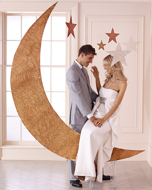 Crescent-Moon and Star Photo Booth