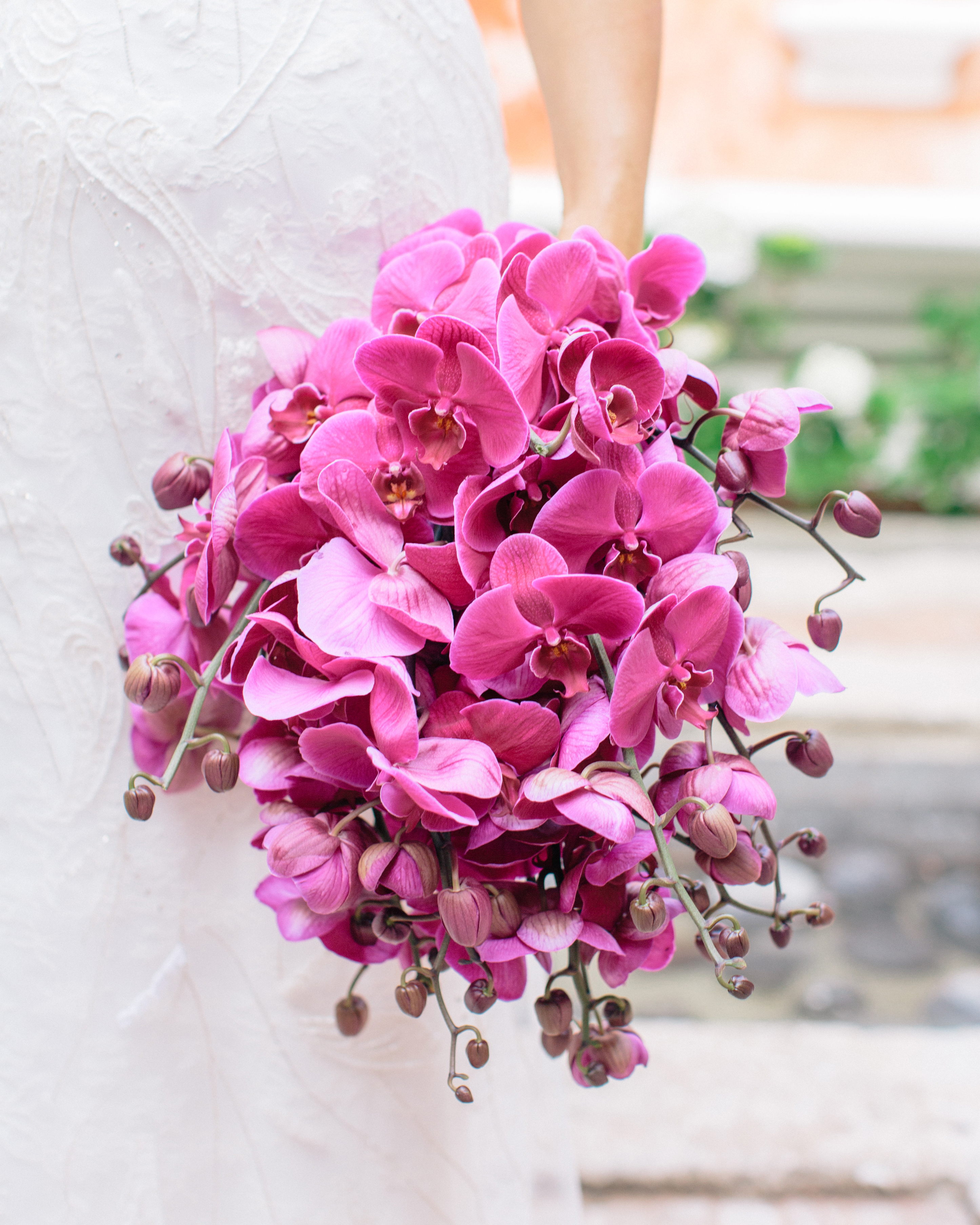 All-Pink Orchid Bouquet