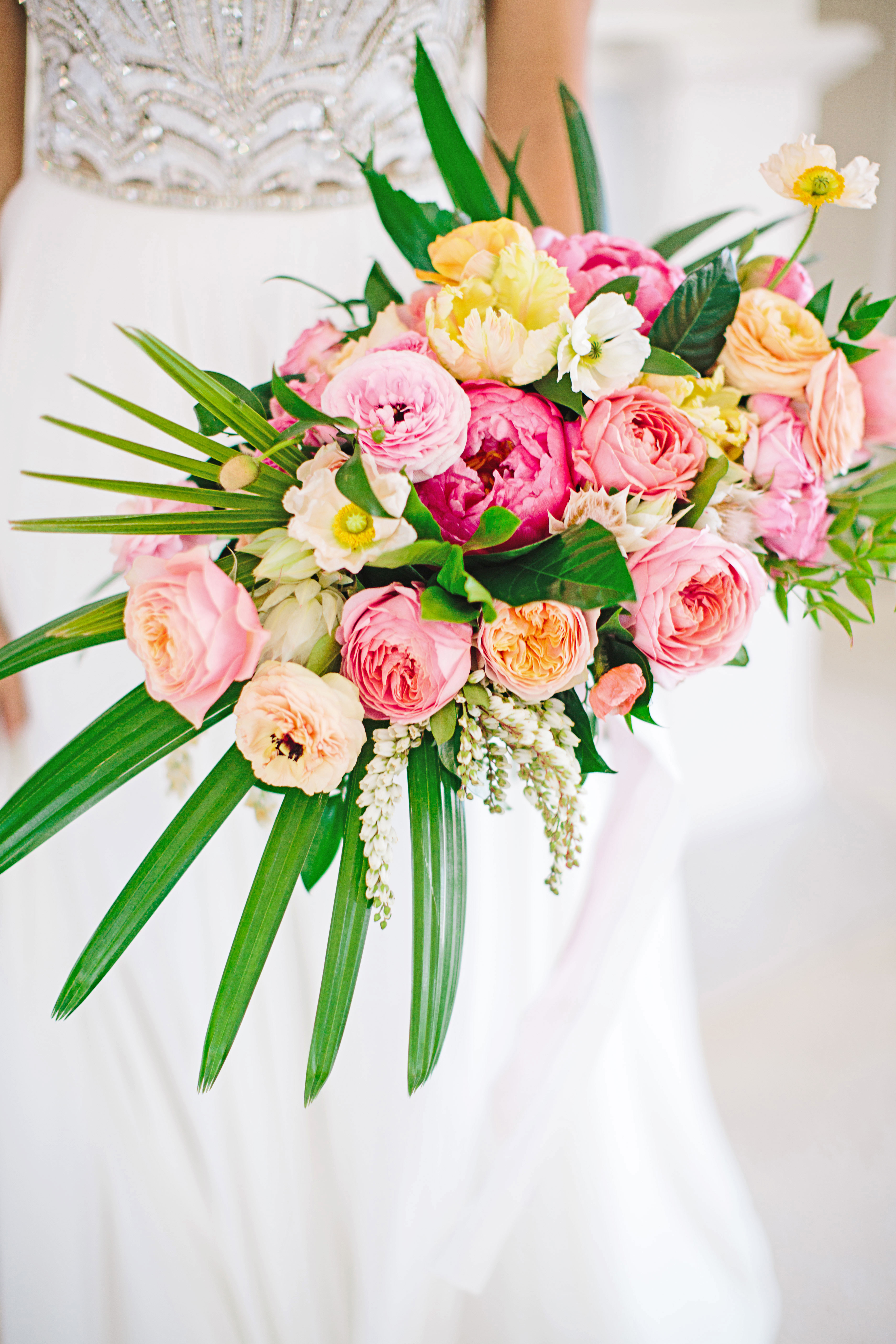 stephanie jared wedding bouquet