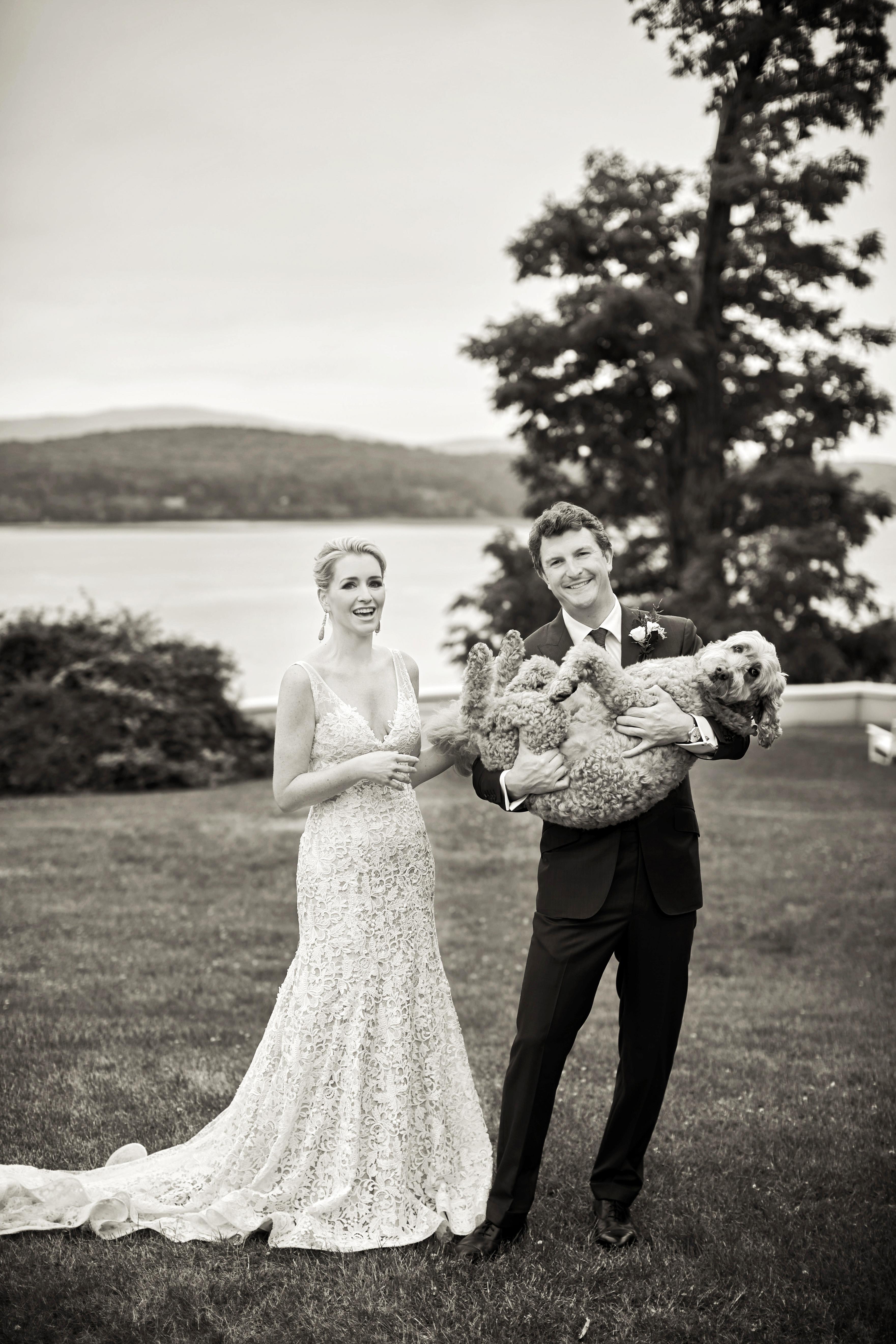 joyann jeremy couple dog portrait wedding