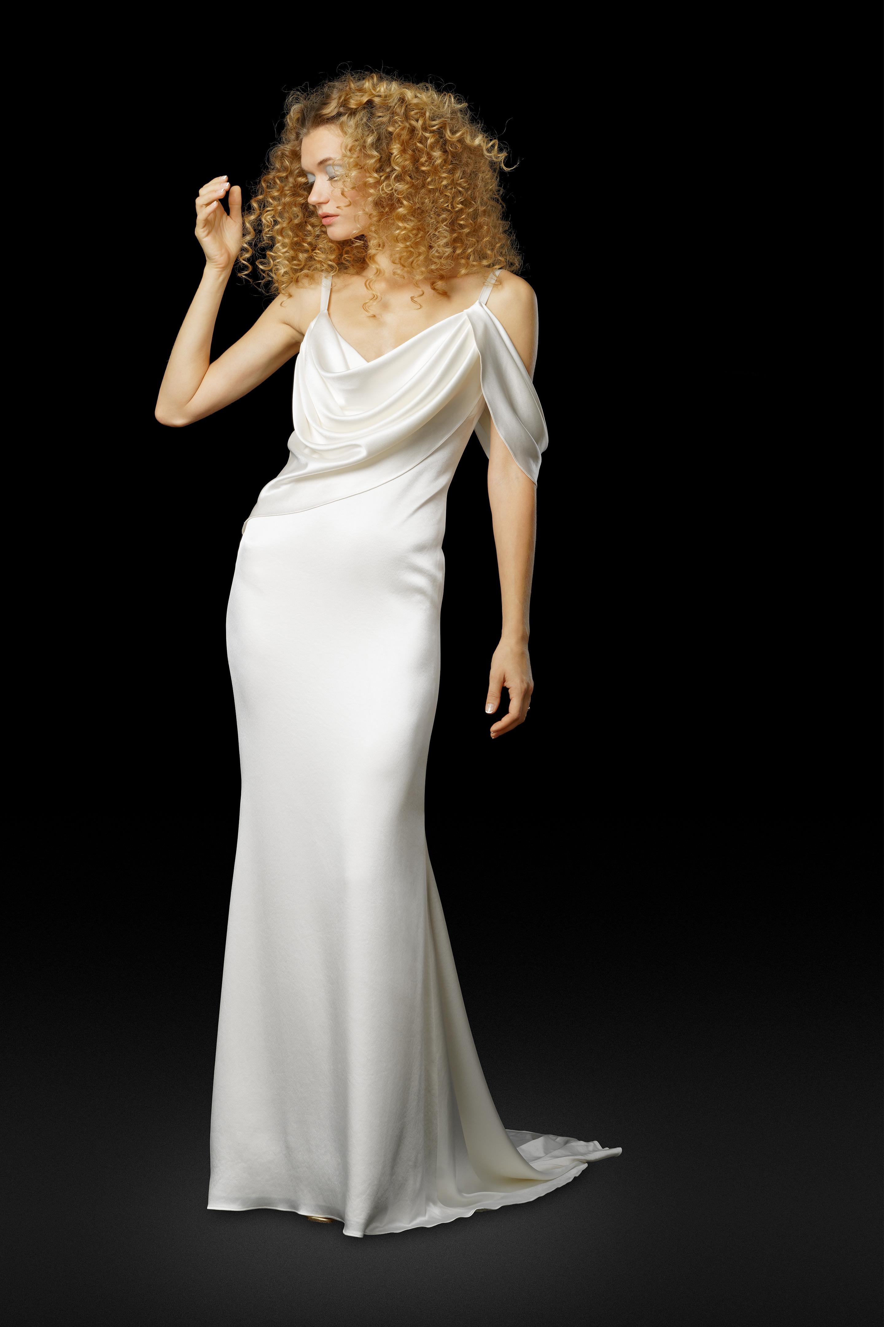 Elizabeth Fillmore Fall 2017 Wedding Dress Collection - Lena