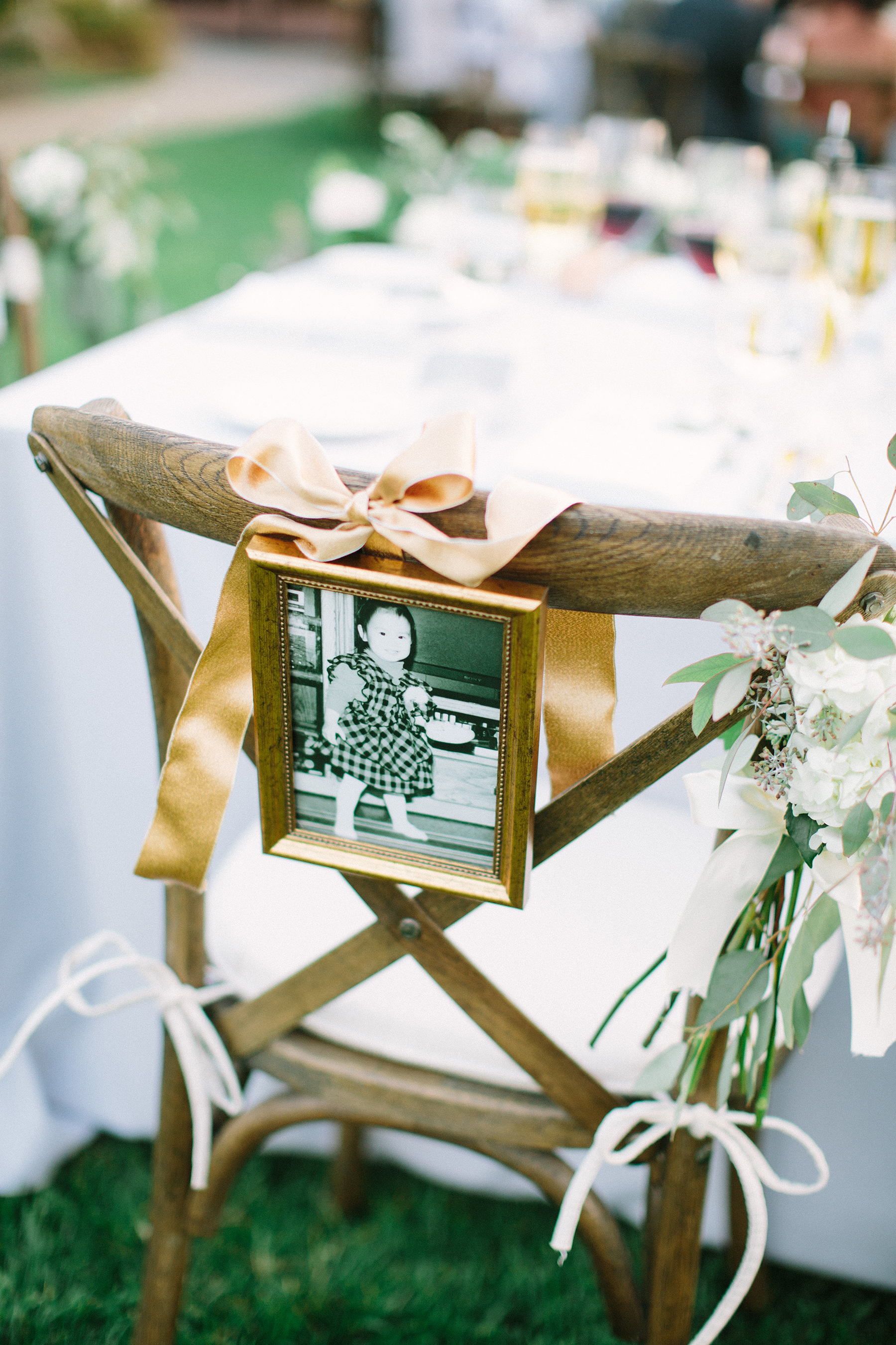 Chair Decor Baby Photo