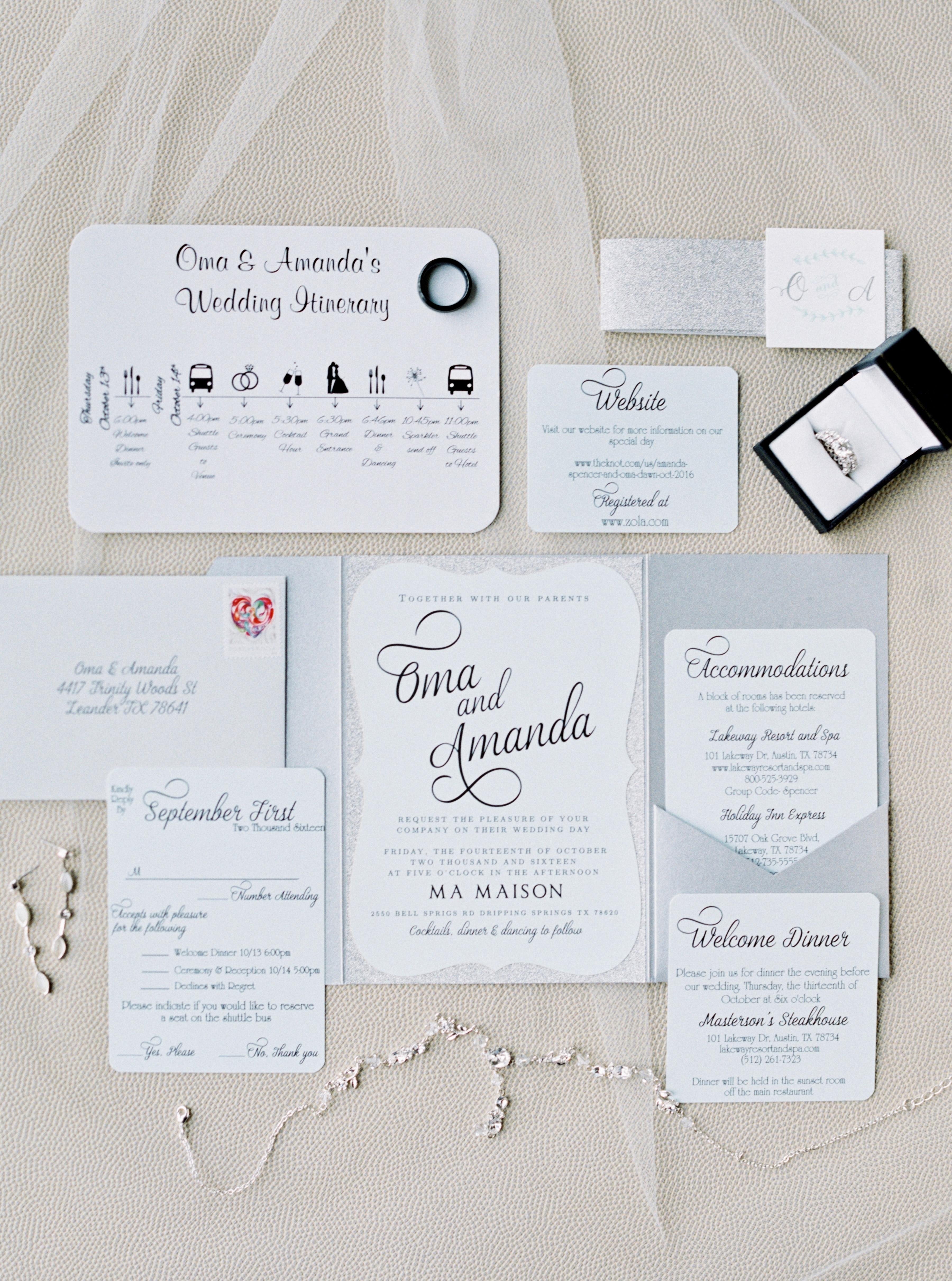 wedding invitations and stationery