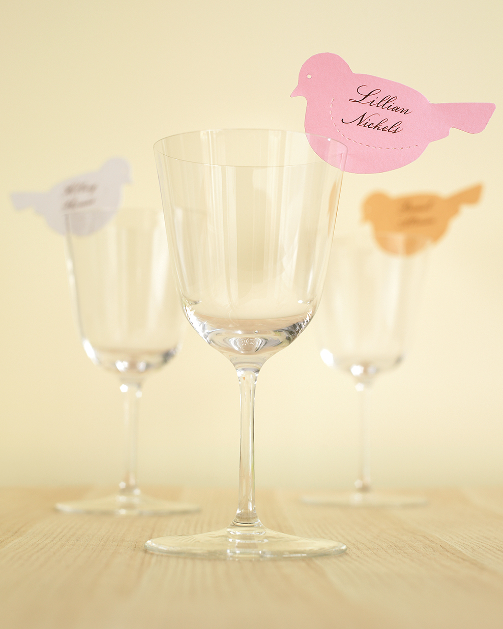 Winged Place Cards