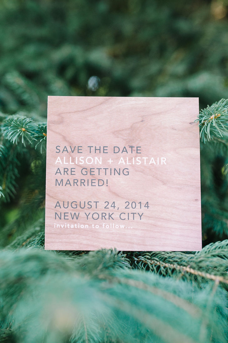 wood save-the-dates