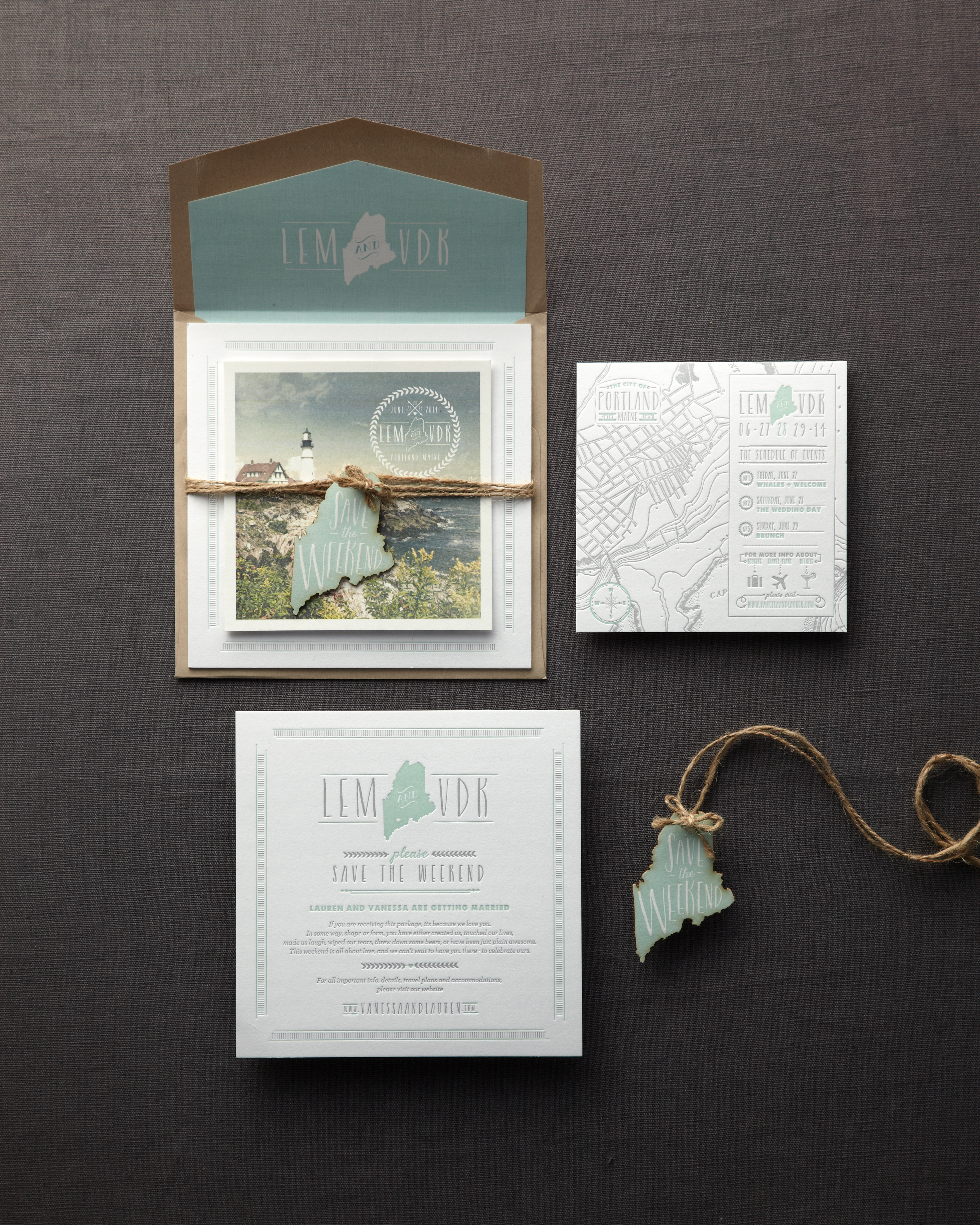 State-Inspired Save-the-Dates