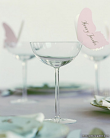 Floaty Butterfly Place Card