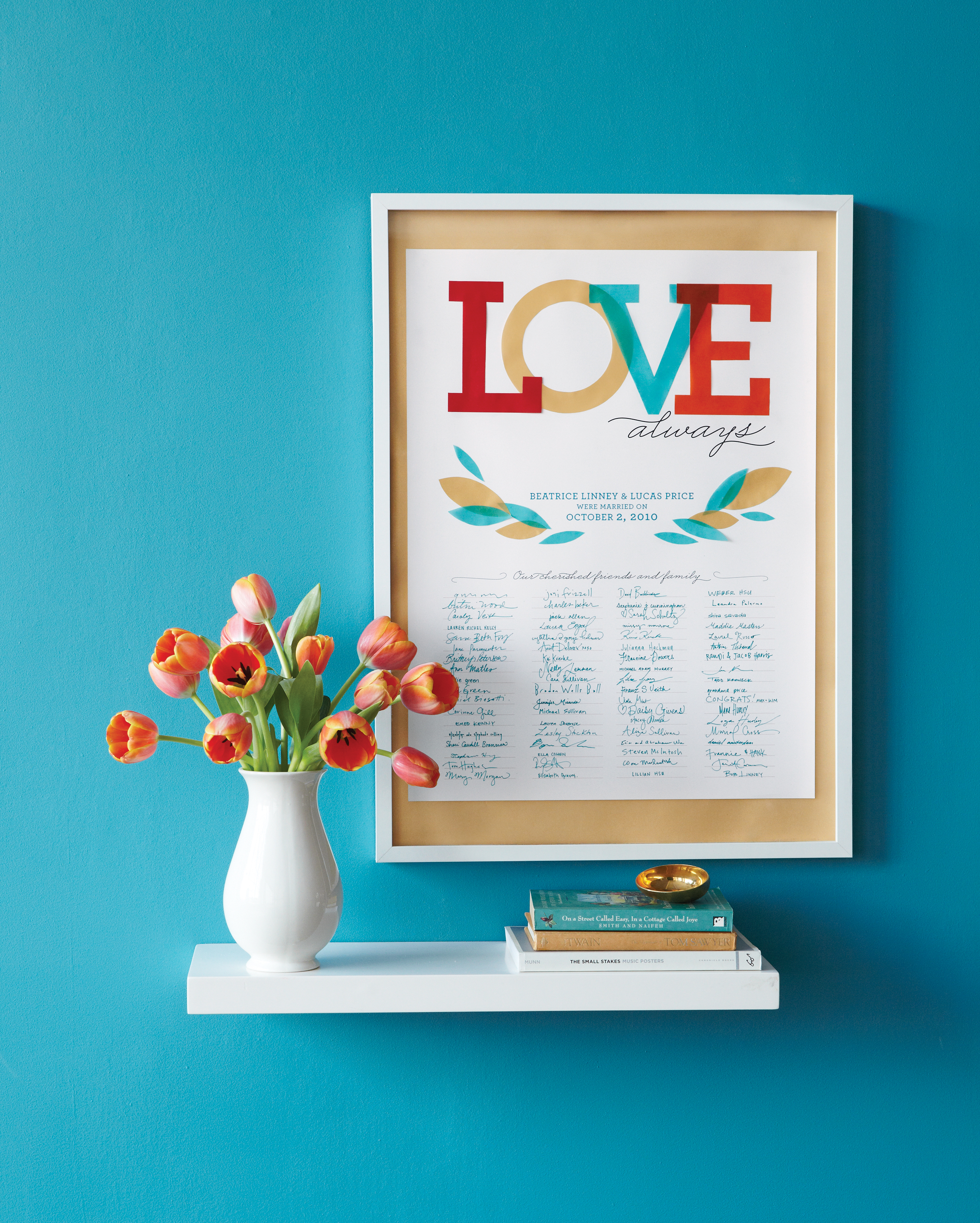 Love Always  Guest-Book Poster
