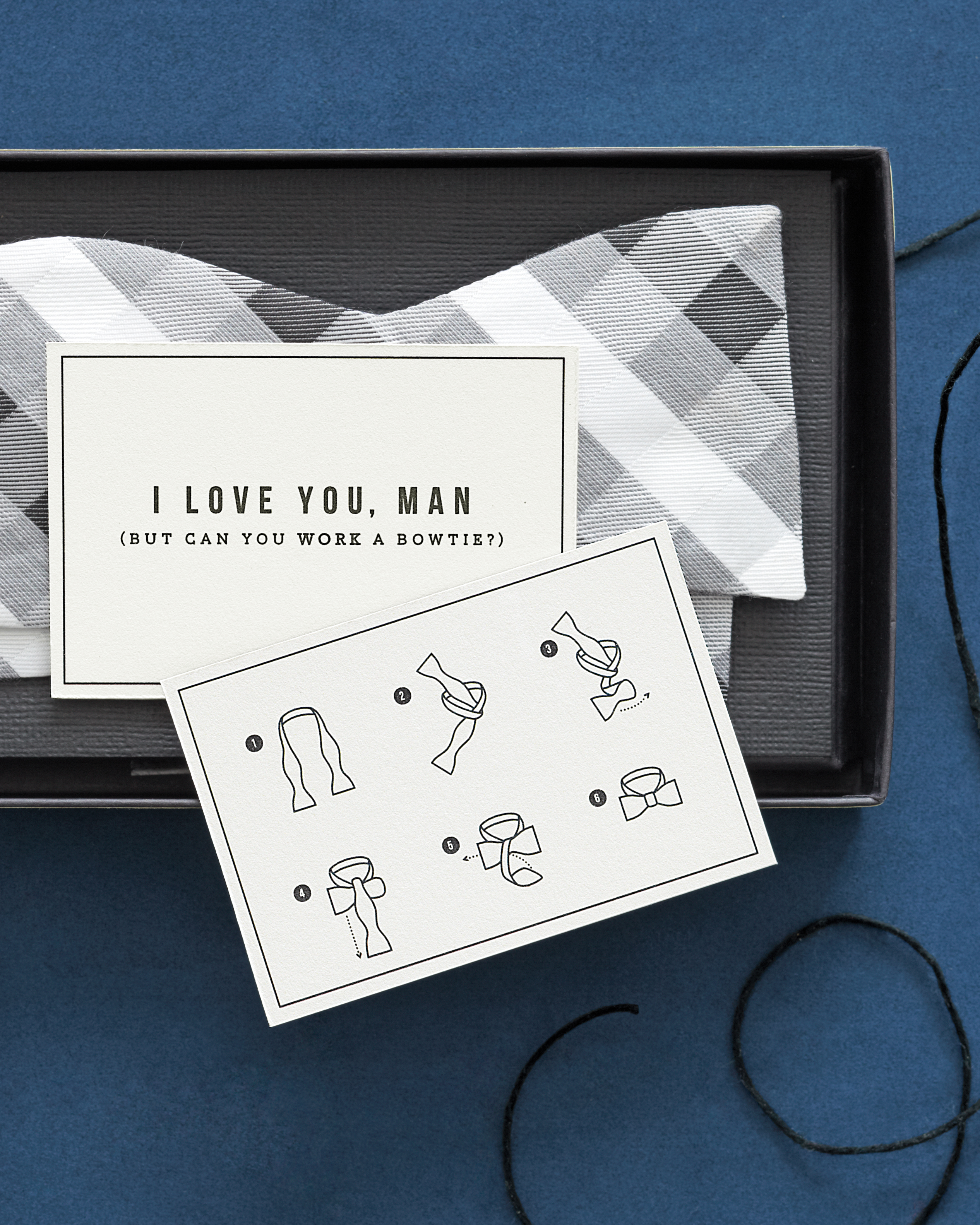 Bow-Tie Cards