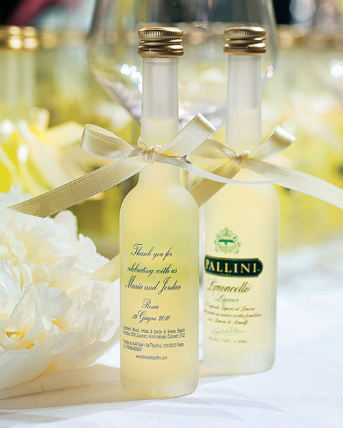 Limoncello Favors