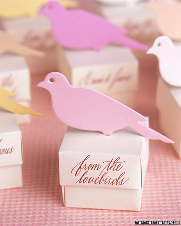 Bird Favor Boxes