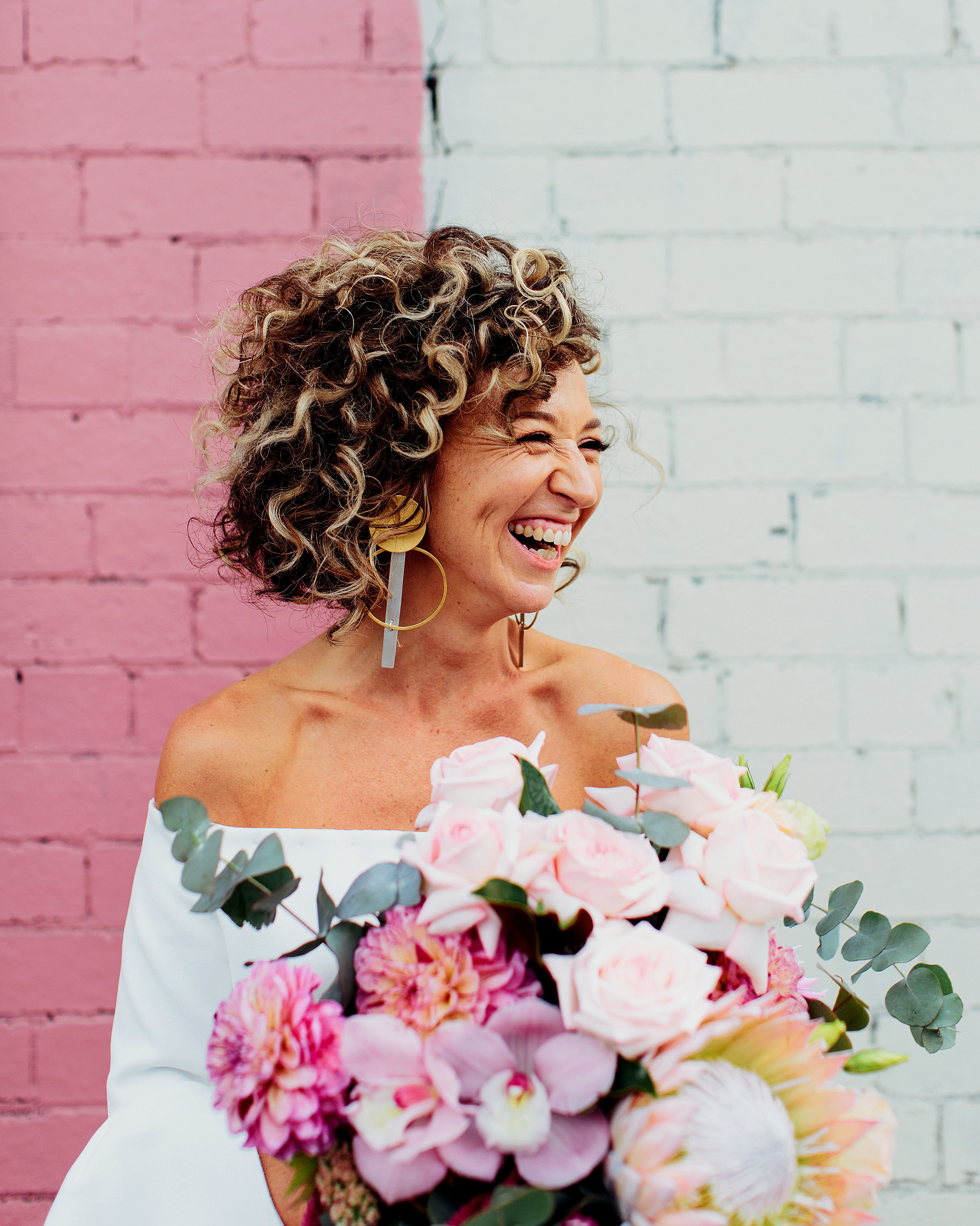 pink wedding ideas sayher heffernan