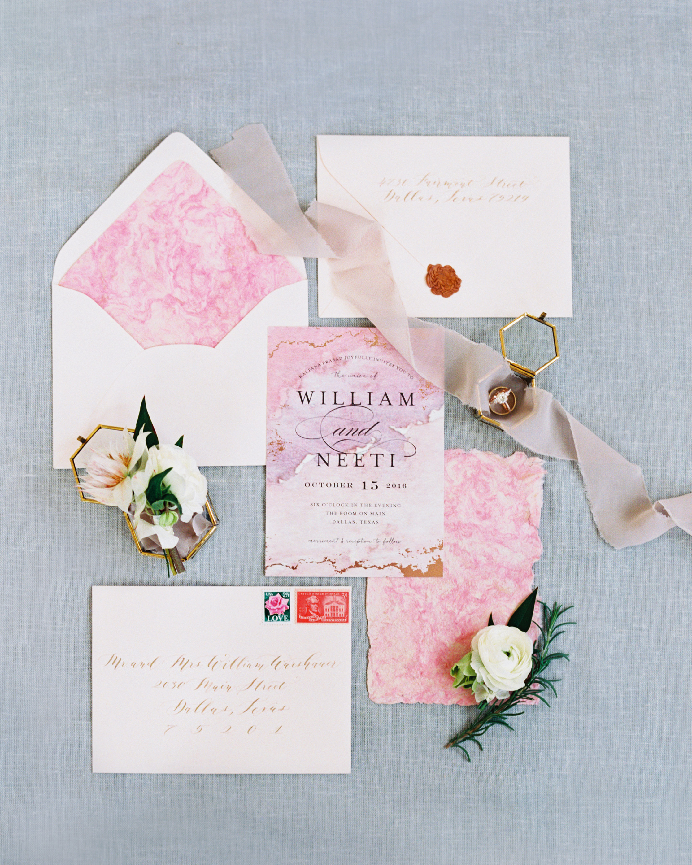 pink wedding ideas stephanie brazzle