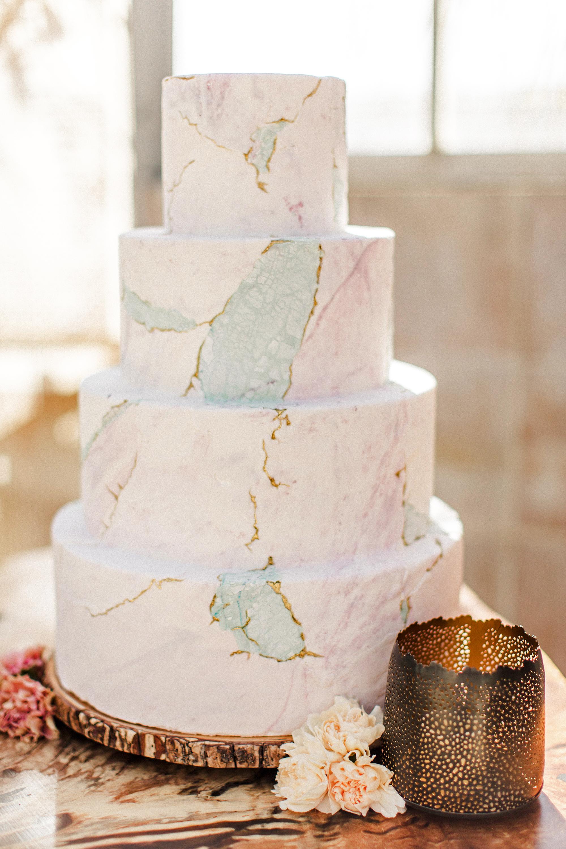 marble wedding ideas crush cakes