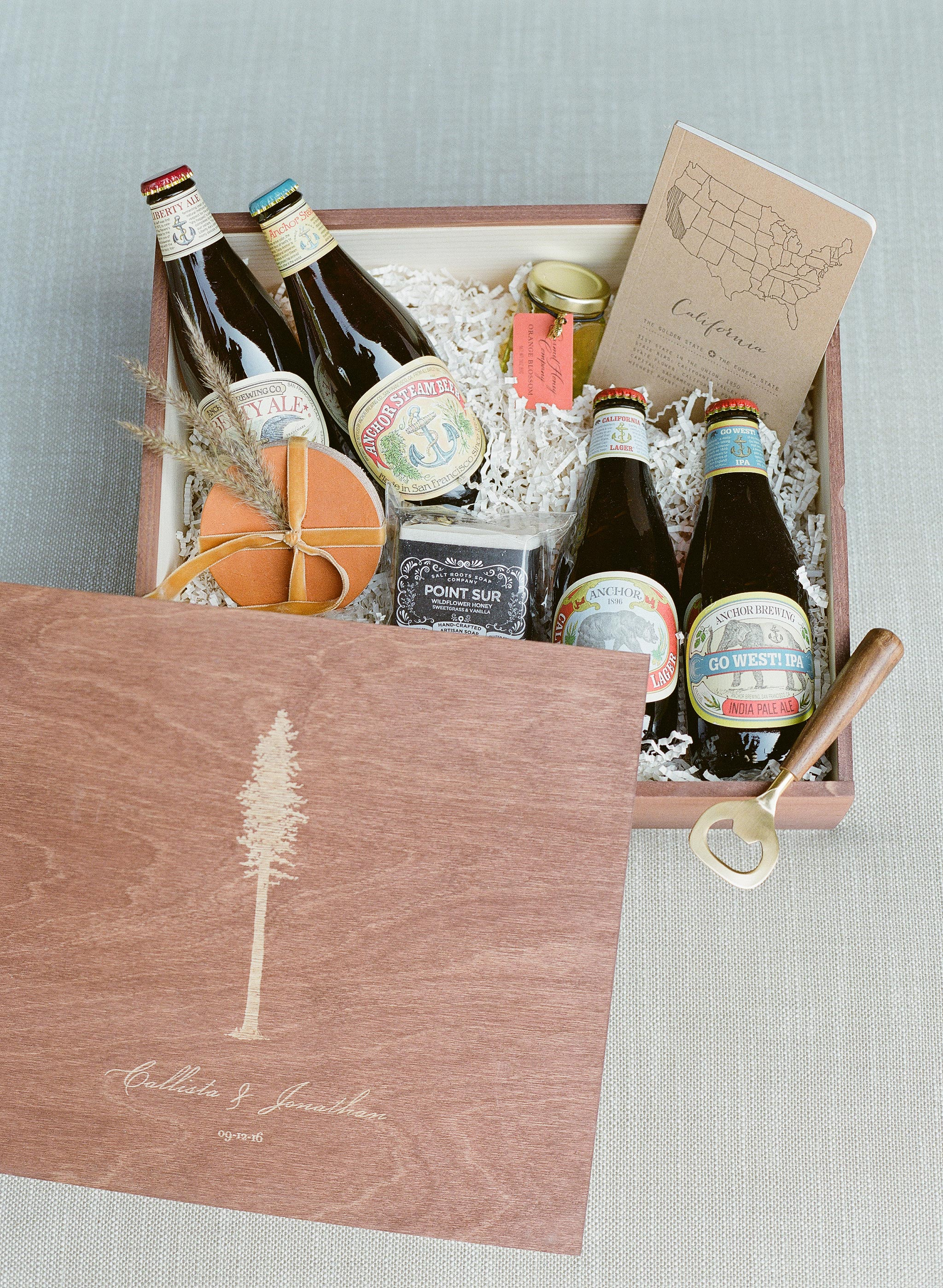 welcome boxes beer