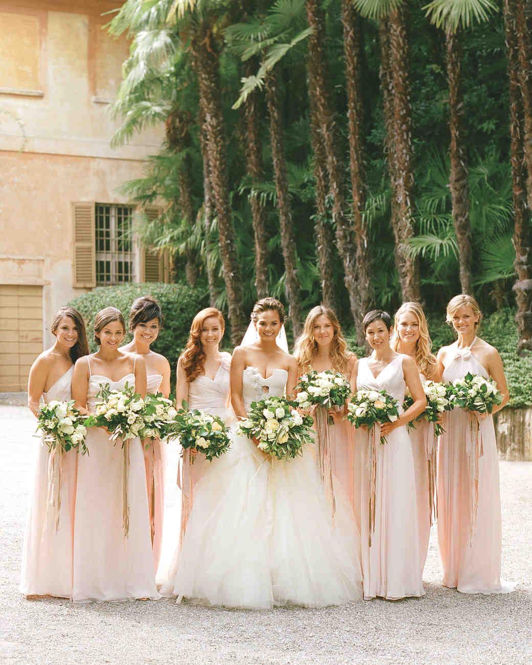 chrissy teigen john legend wedding bridesmaids