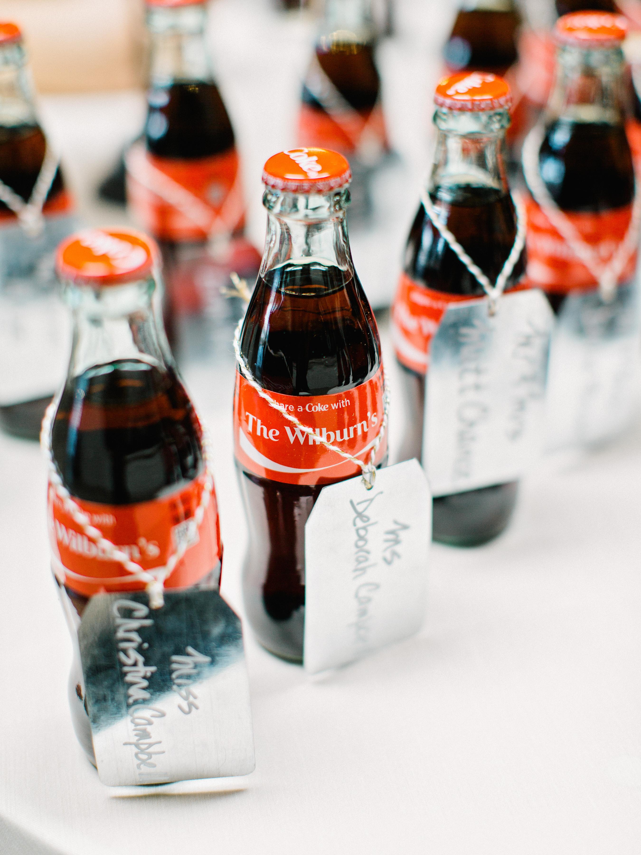personalized coca cola favors