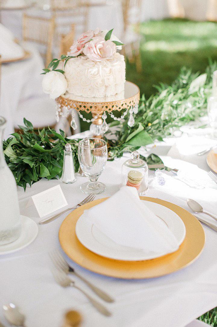 bridal shower petite buttercream cake