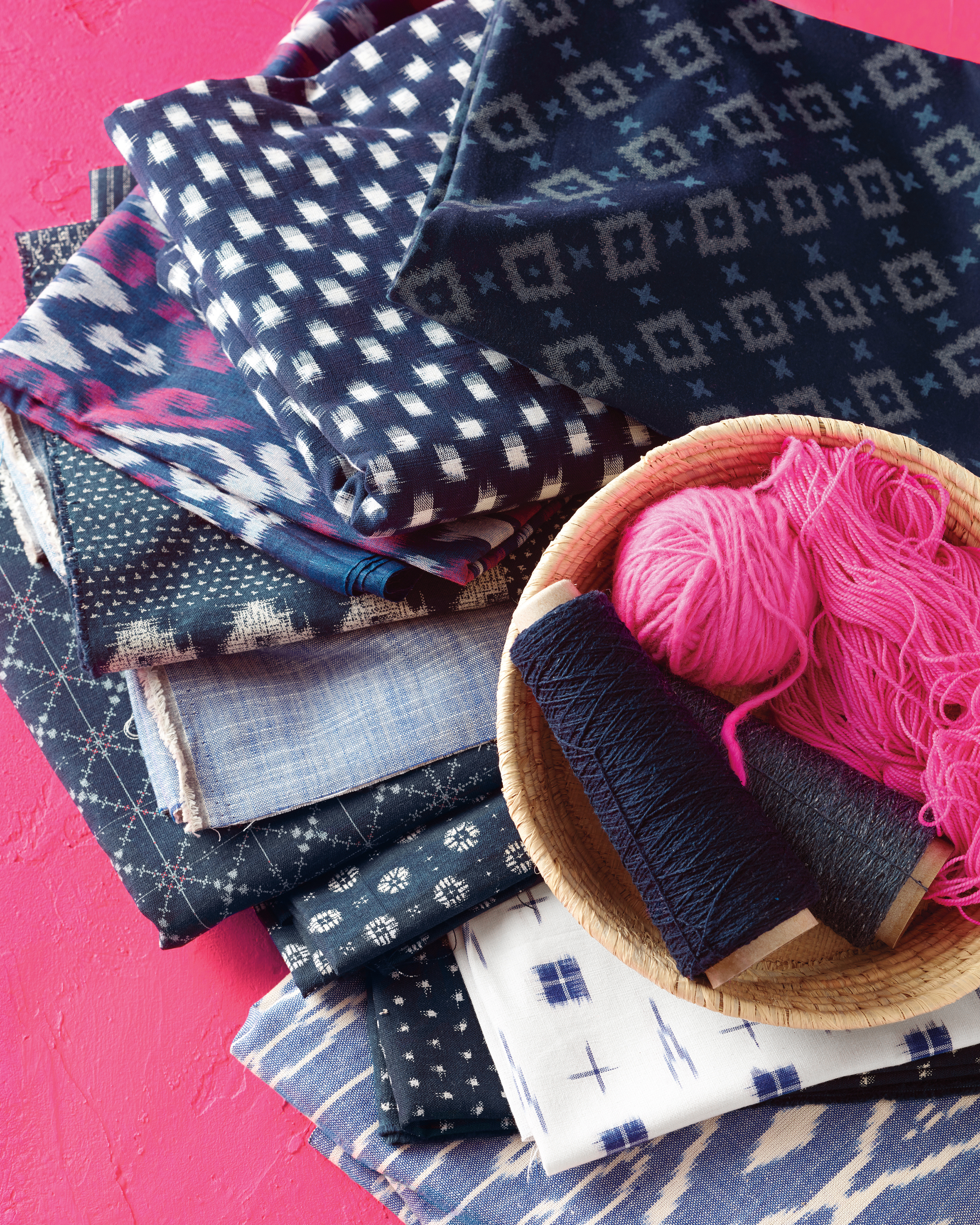 Colorful Traditional Textiles are the New Burlap
