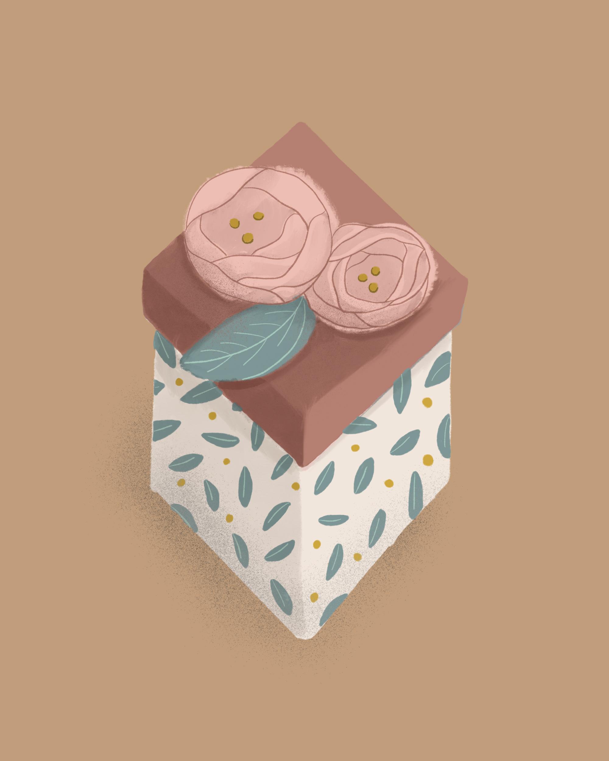 Groomsmen Gift Guide, Illustrated Gift Box