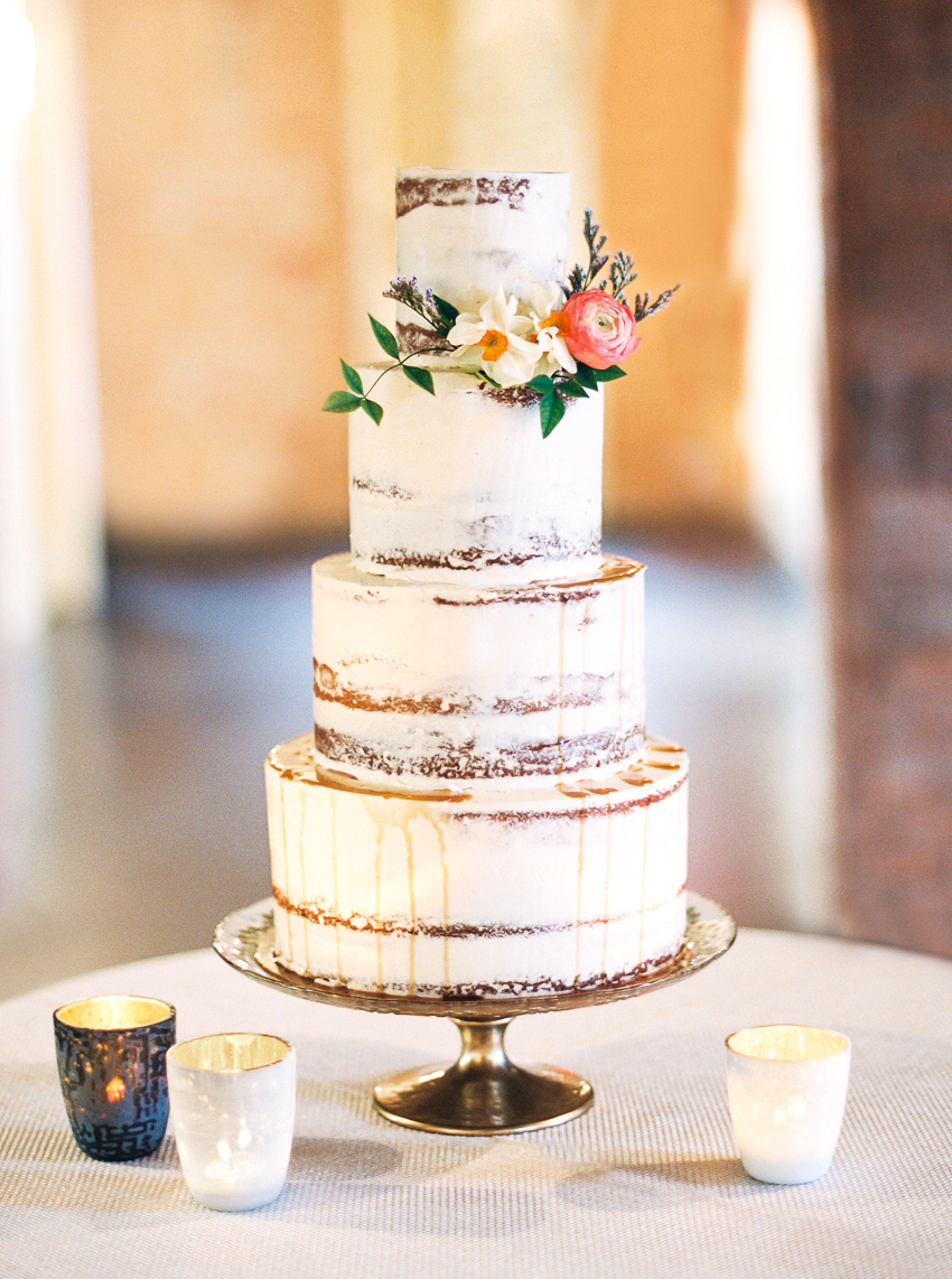A Delicious Wedding Cake