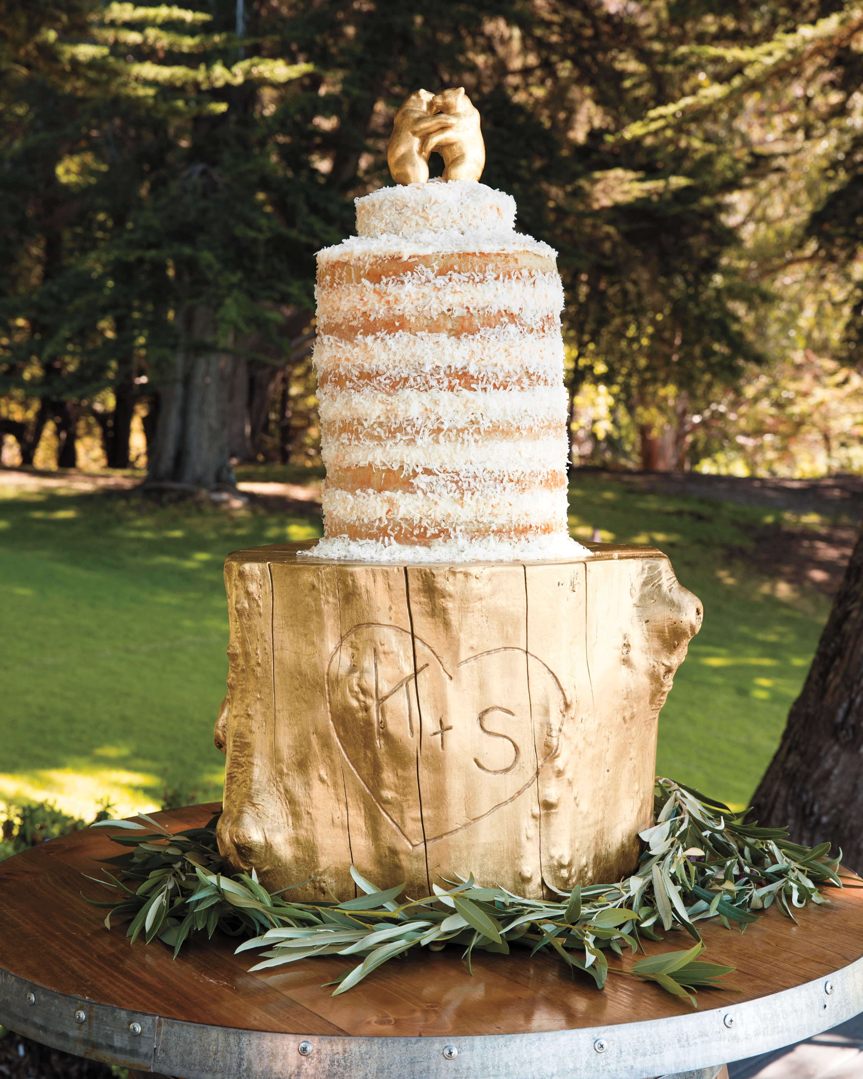 Initialed Cake Stand