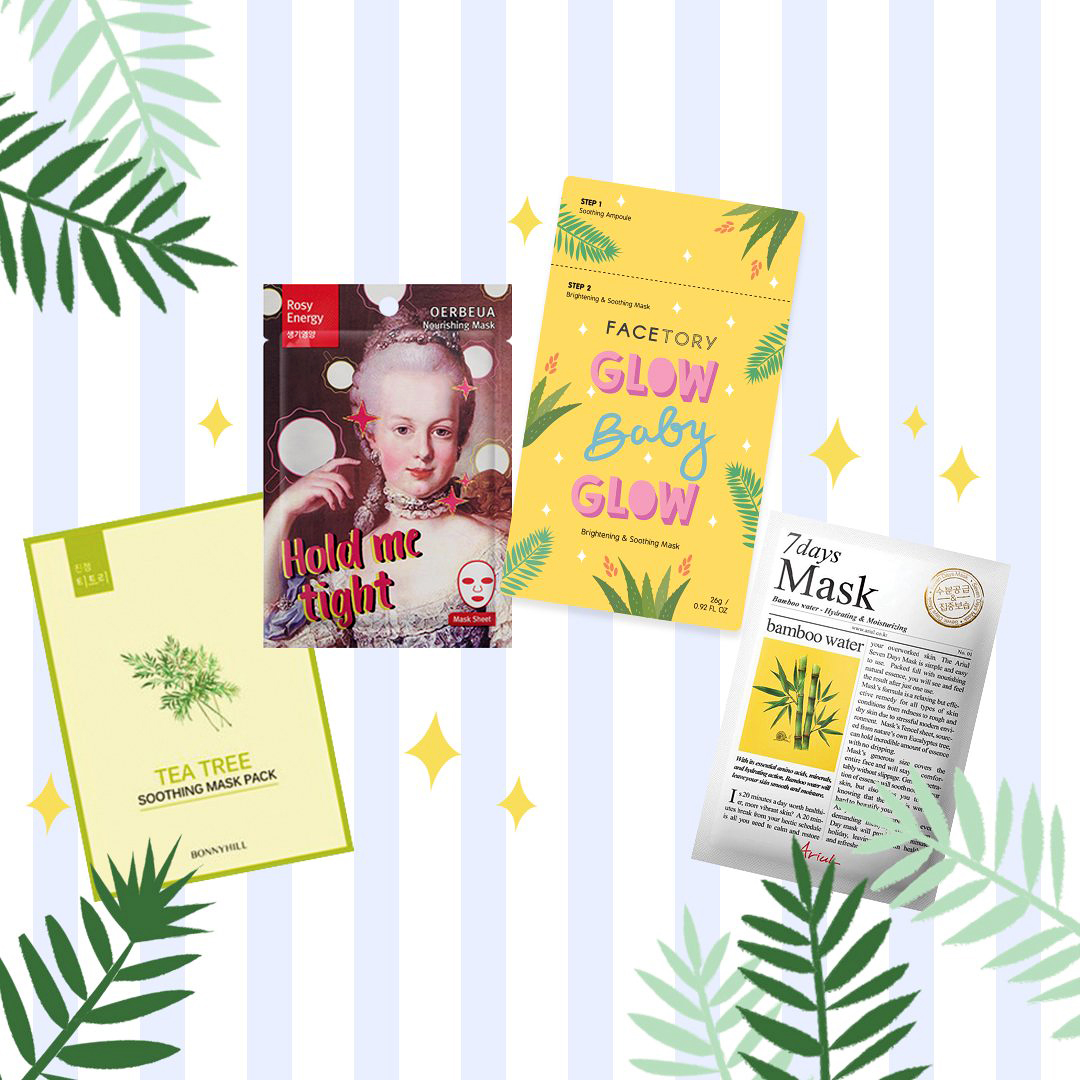 bridesmaid gift facetory face mask subscription