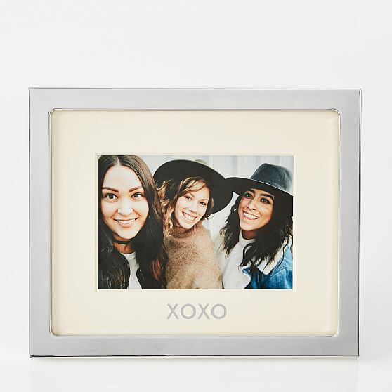 be my bridesmaid silver xoxo picture frame