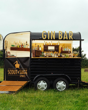 scout sage spirits mobile gin bar