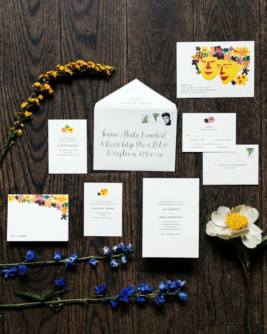 alissa mark wedding stationery